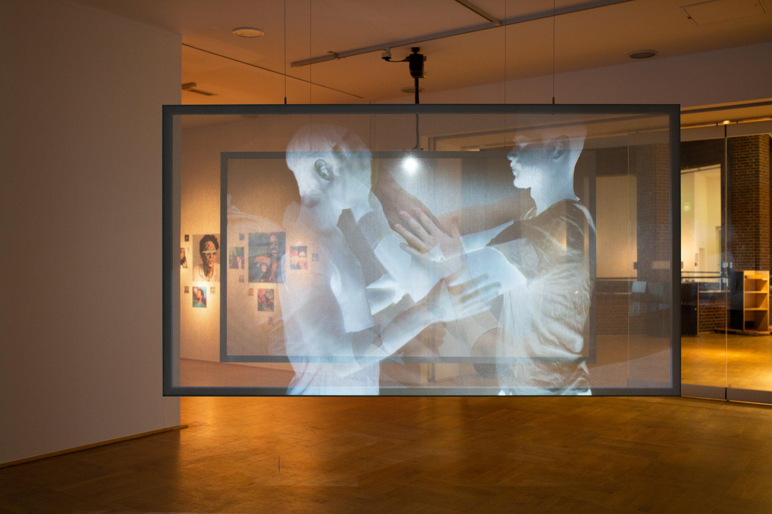 Exhibition view: PENDORAN VINCI, work by Tuomas A. Laitinen, photo © NRW-Forum Düsseldorf / Bozica Babic