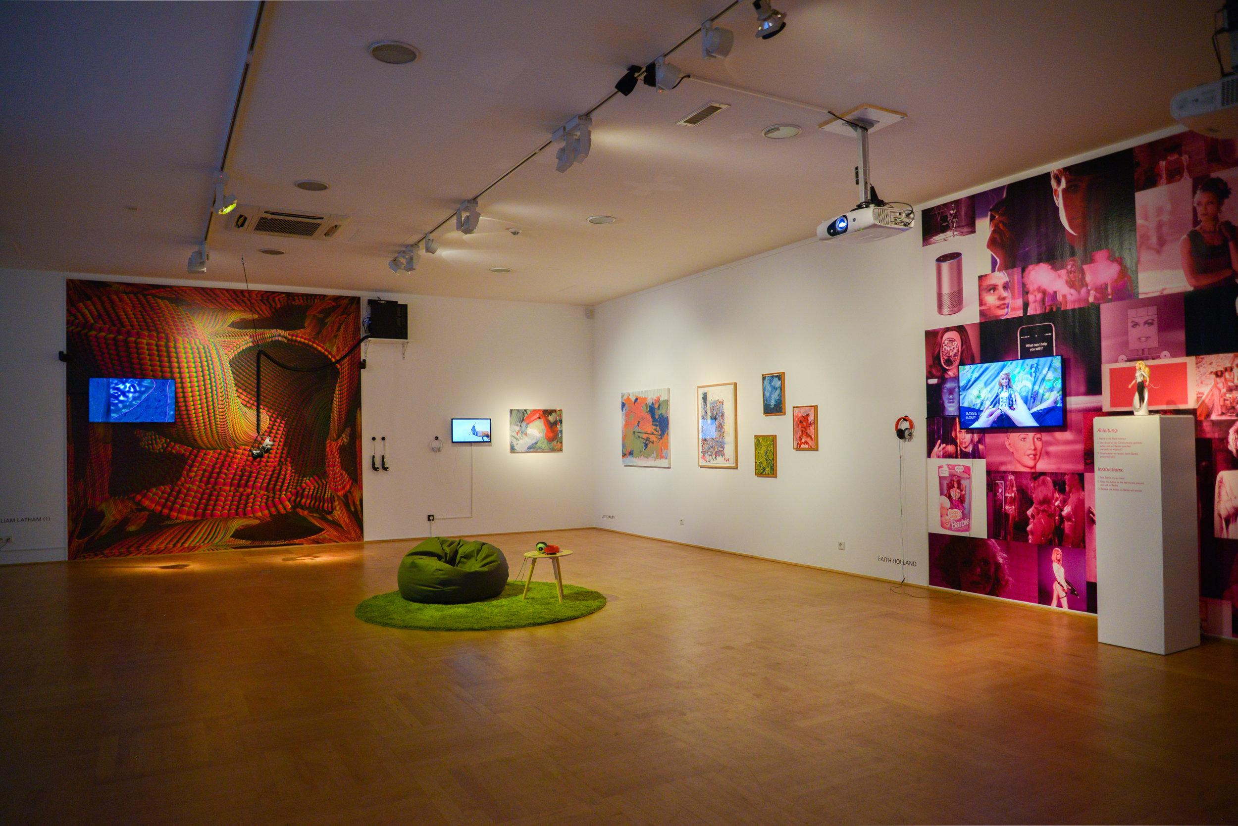 Exhibition view: PENDORAN VINCI, photo © Jonas Blume, 2018