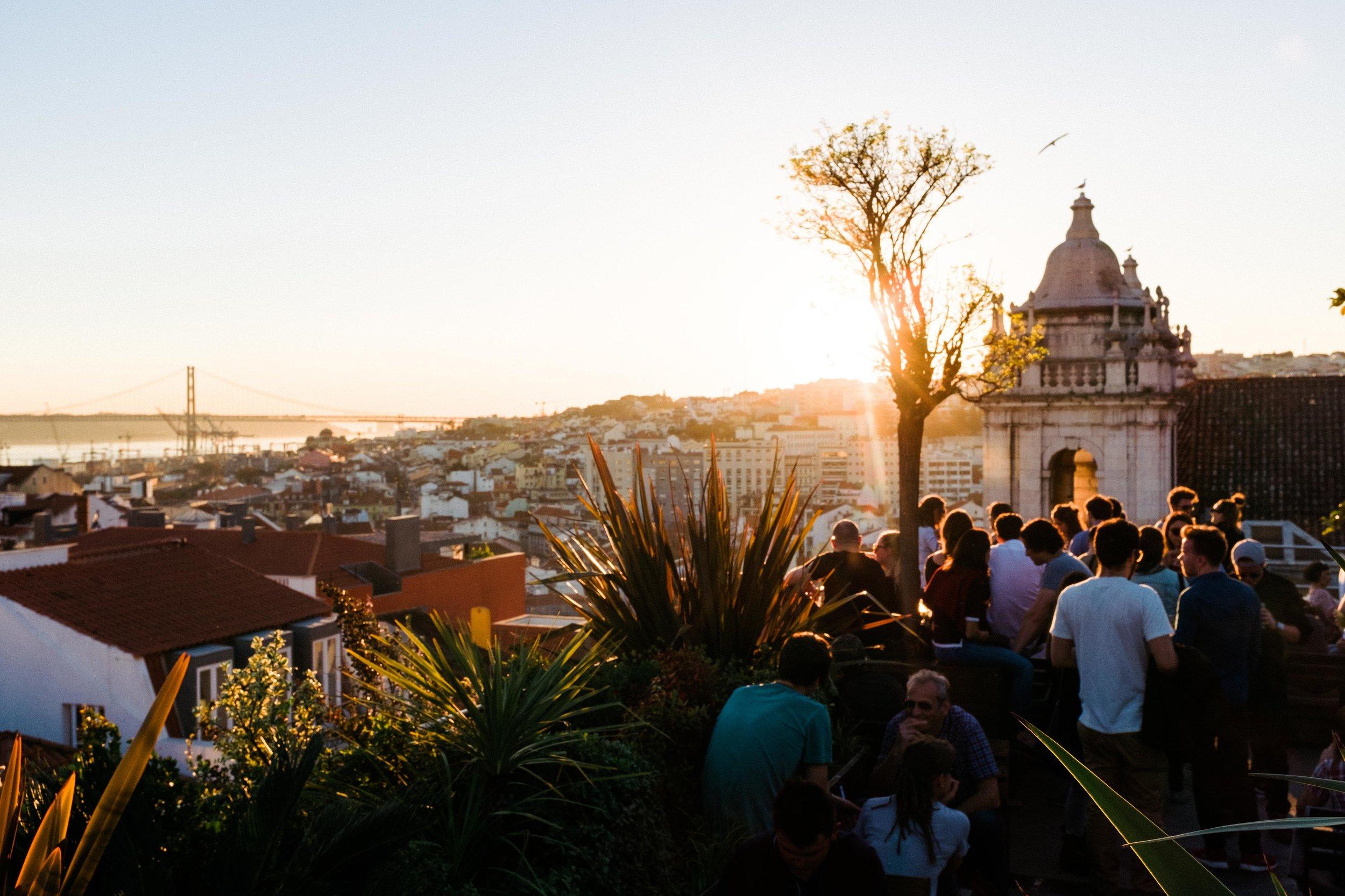 lisbon-portugal-park-bar-sunset