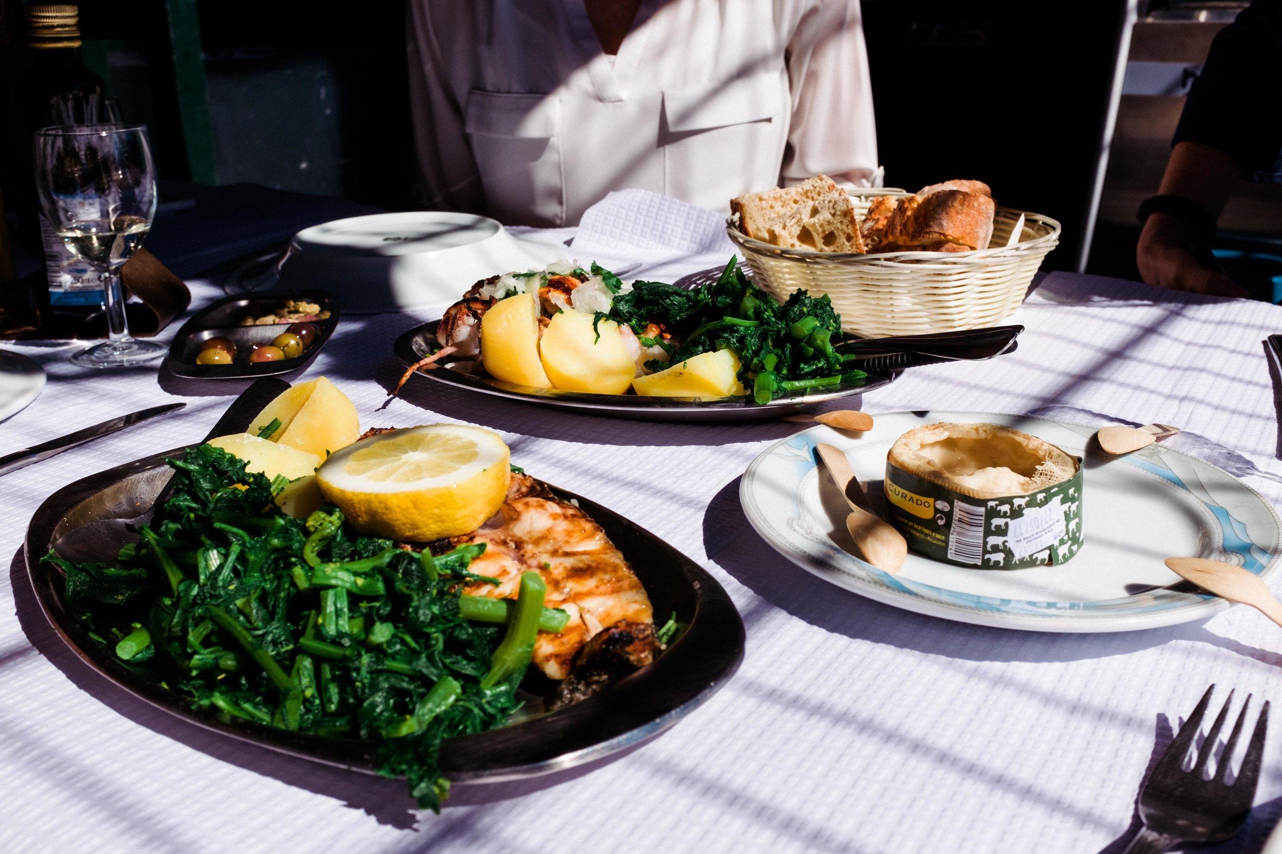 lisbon-portugal-seafood-meal