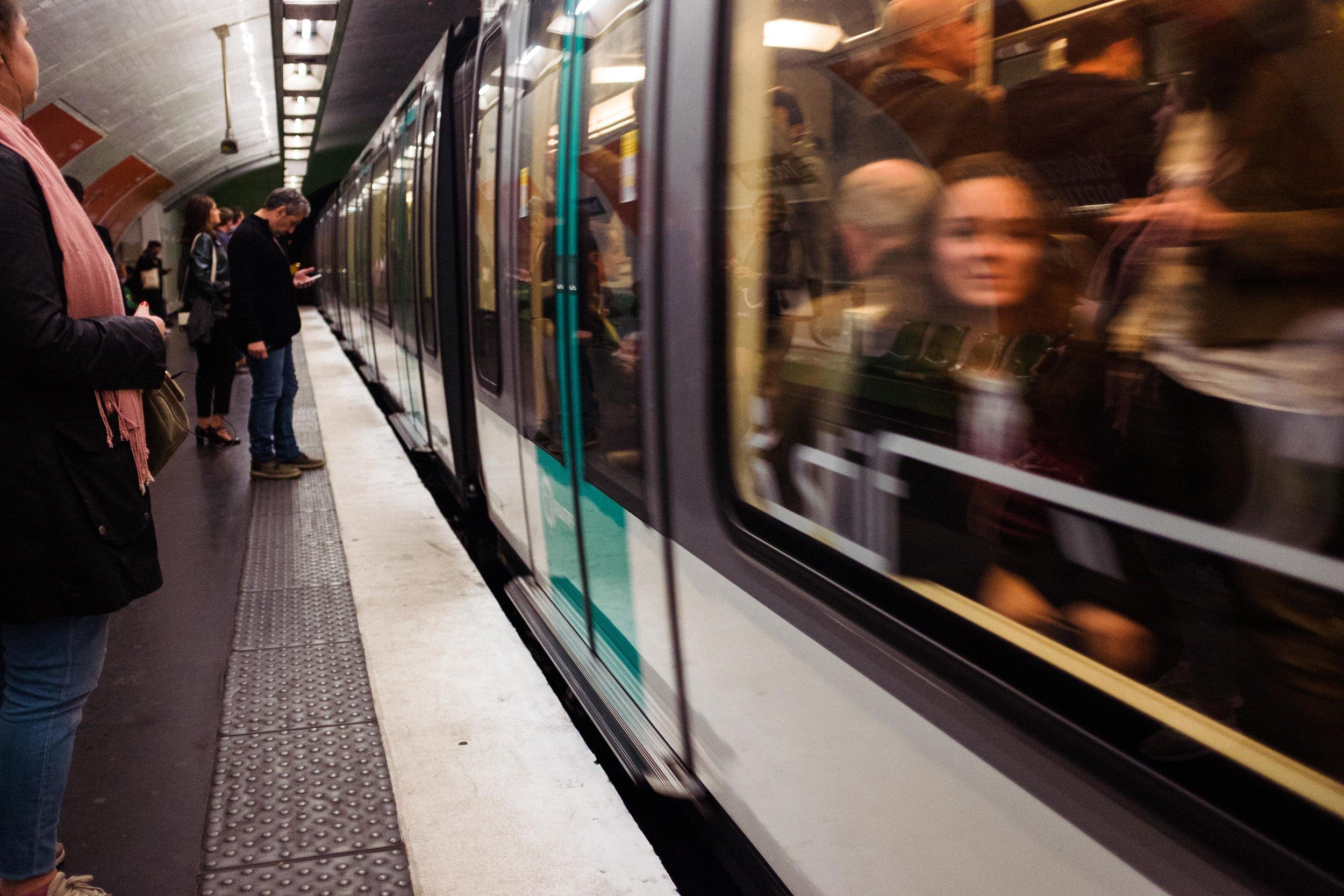 paris-france-metro-woman-smiling