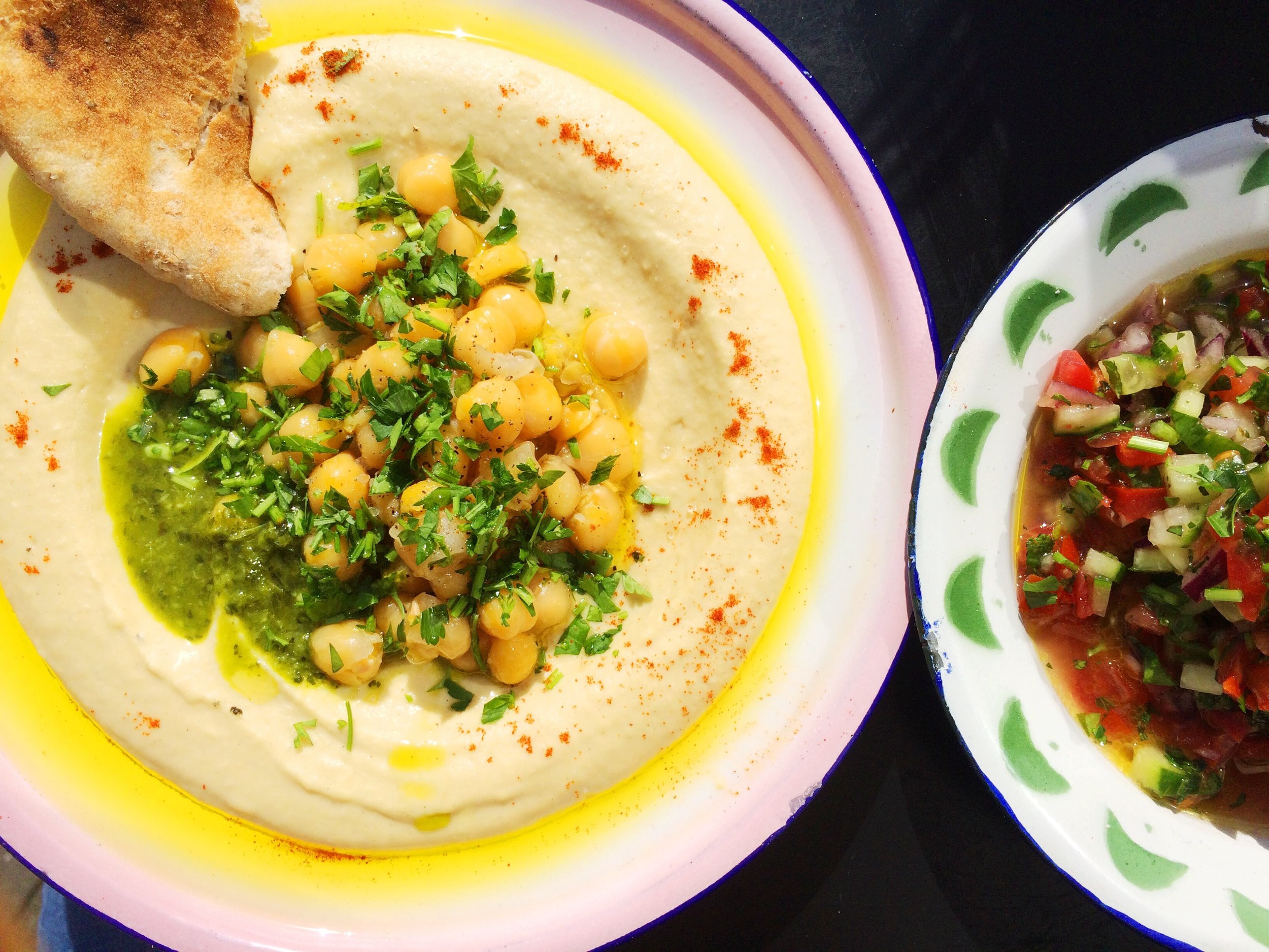 Give me all the hummus!
