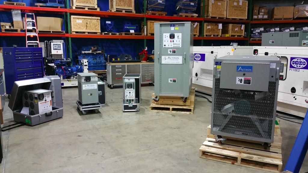 Simply Reliable Power- Avtron Fleet