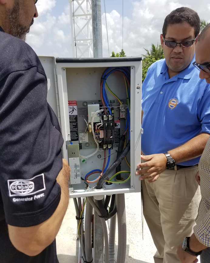 ASCO Trasnfer Switch installed in Dominican Republic