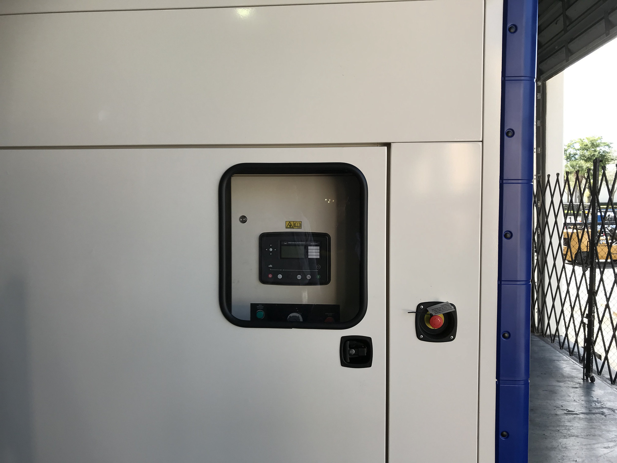 FG Wilson GenSet Deep Sea Panel
