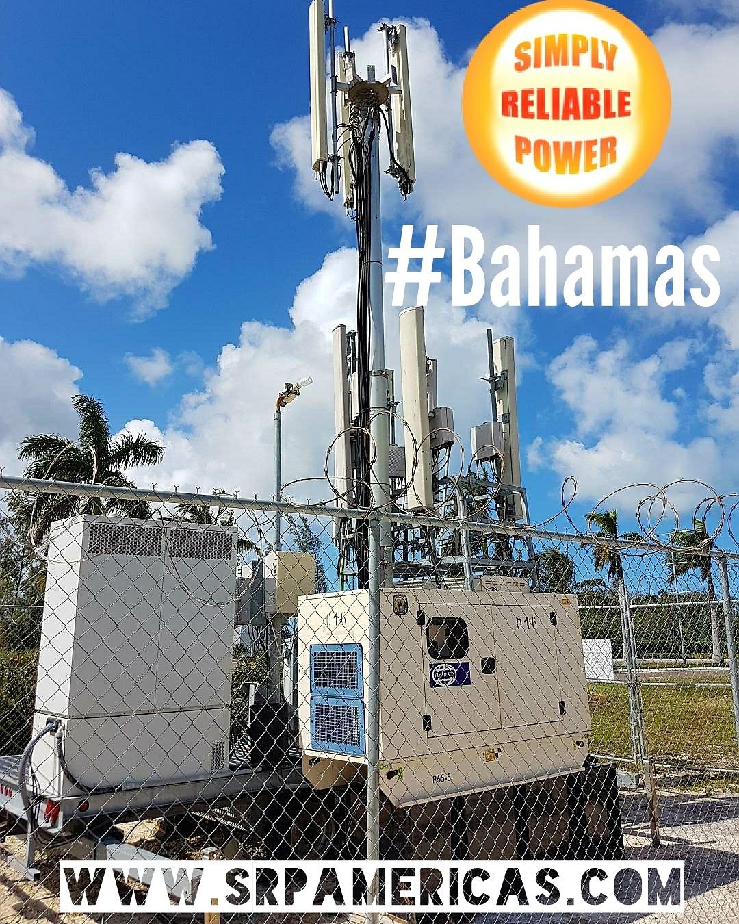 FG Wilson Generators powering a Telecom tower