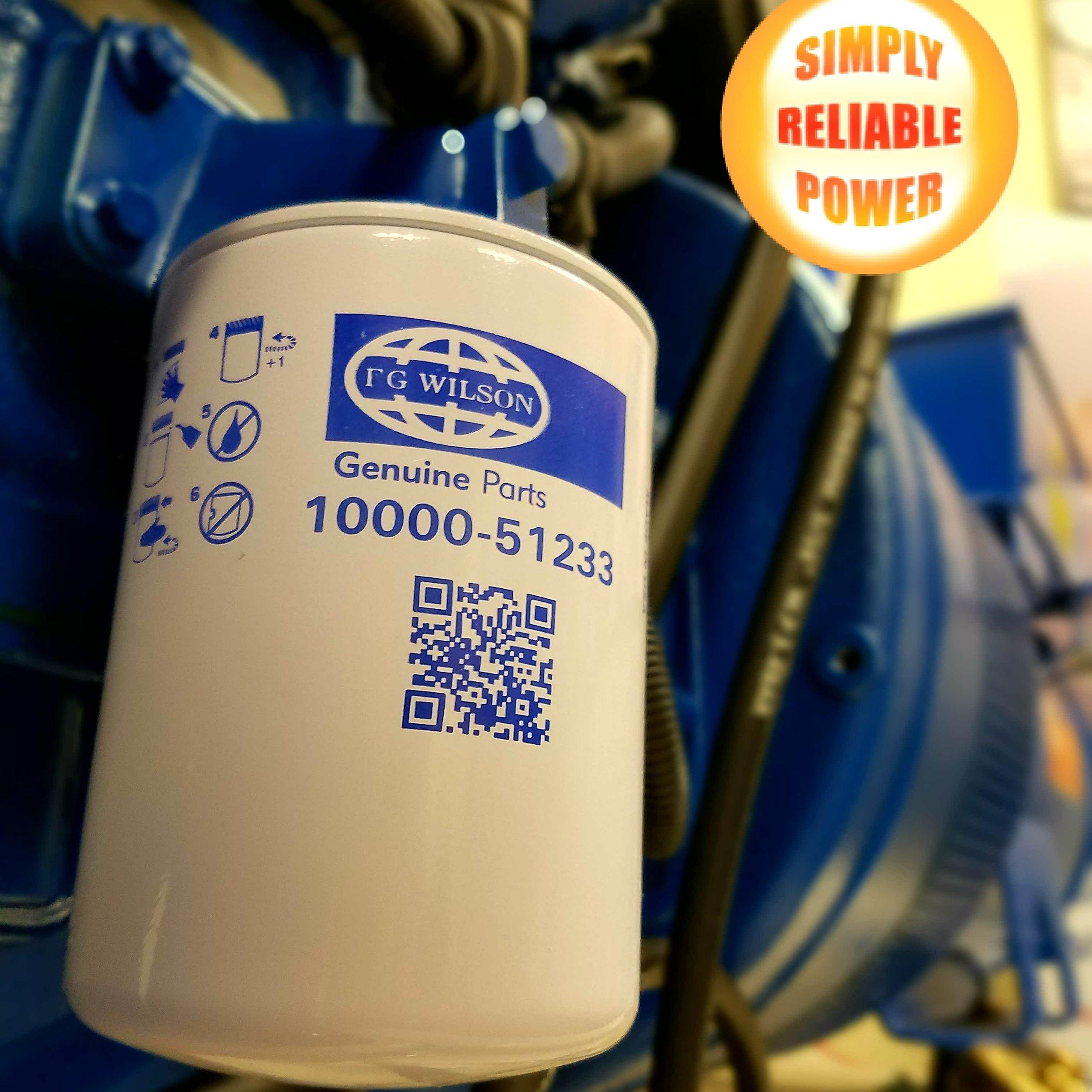 FG Wilson Filters