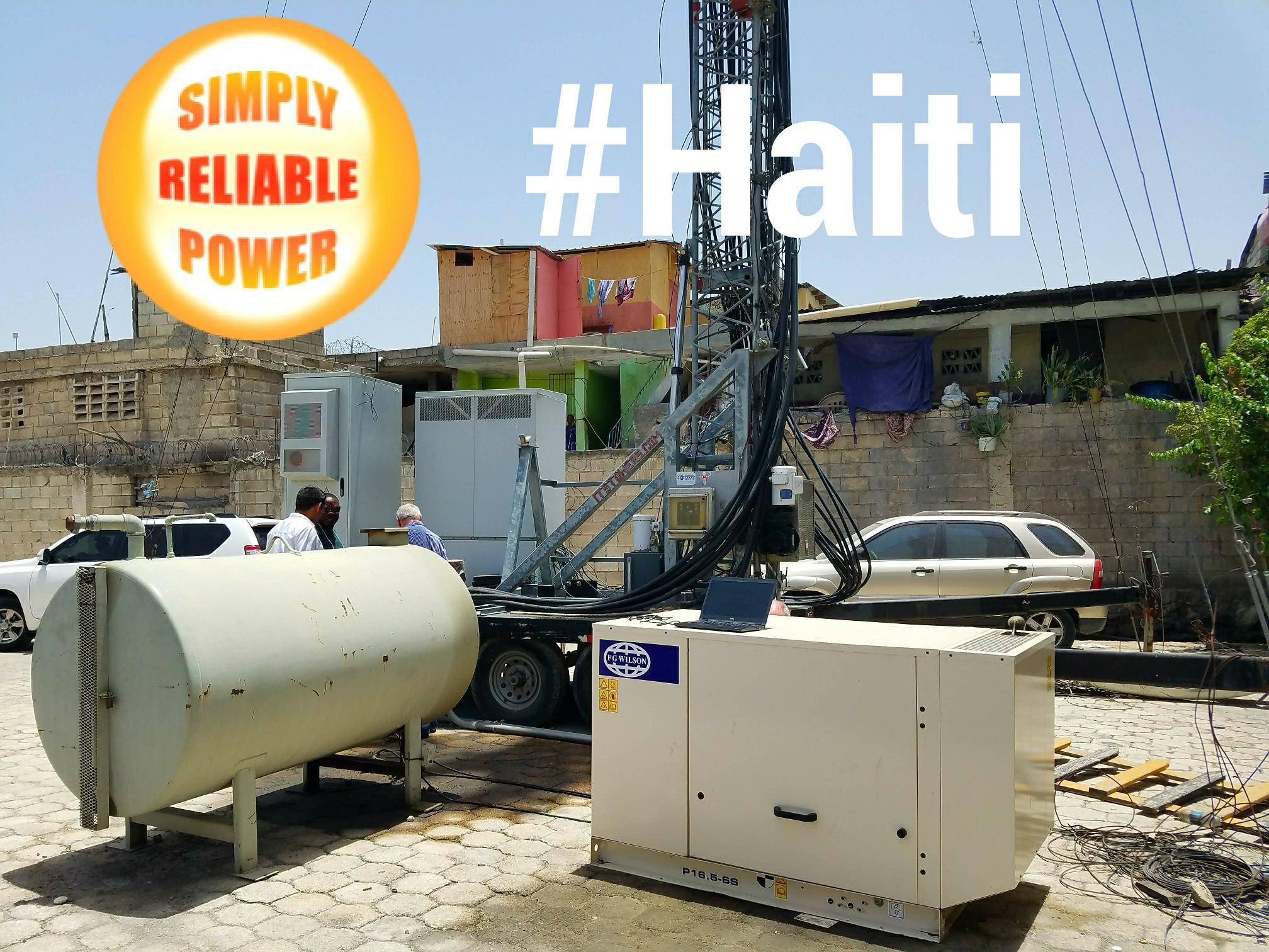 FG Wilson Generators in Haiti
