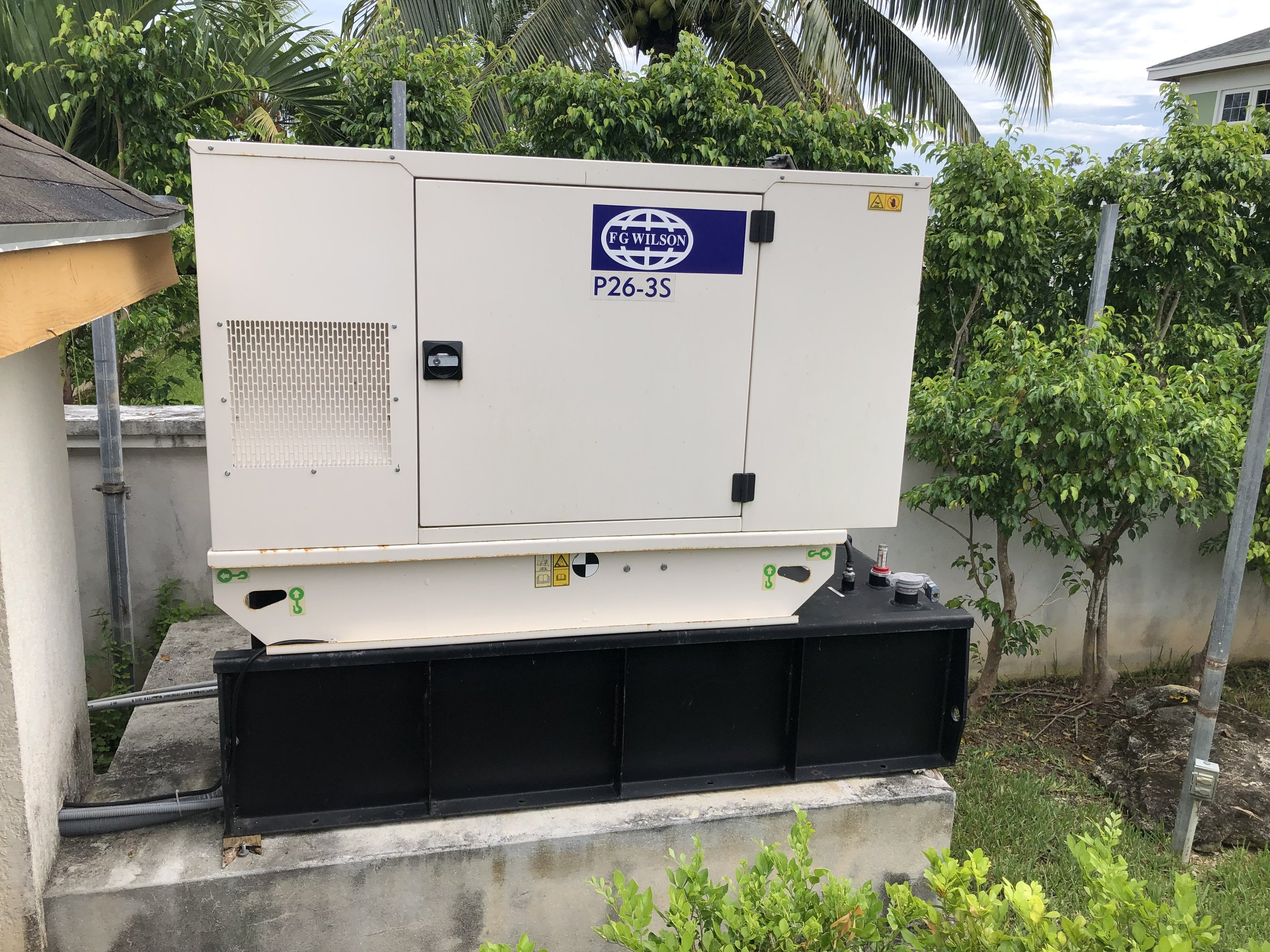 FG Wilson generators installed in The Bahamas