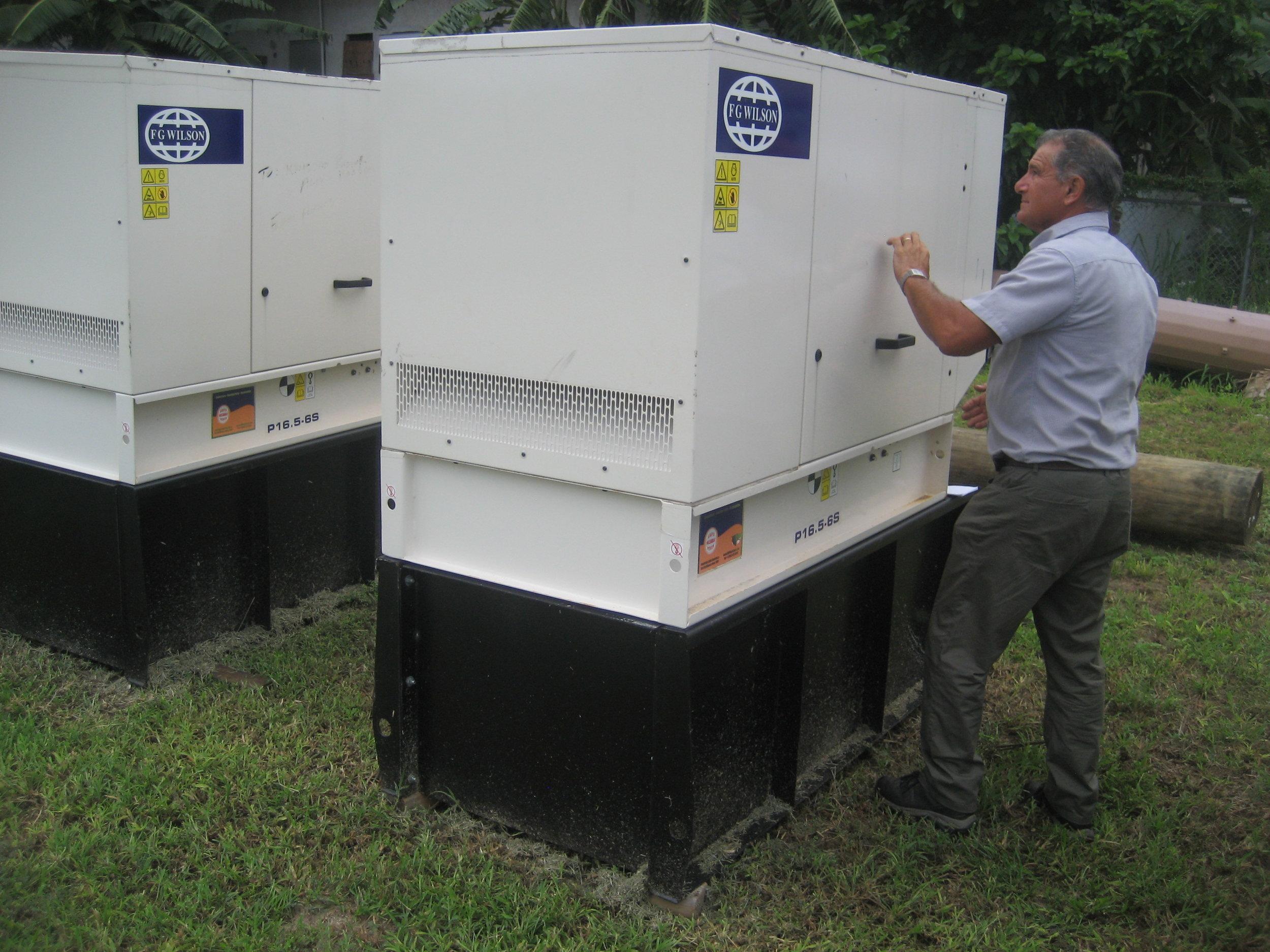 Generators service and repair in The Bahamas