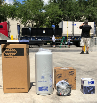 WE CARRY OVER $3 MILLION DOLLARS IN INVENTORY AT ALL TIMES. - An important part of our commitment to our customers is to support them with best in class after sale service, offering parts and services that guarantee a non-stop operations of our generators sets.
