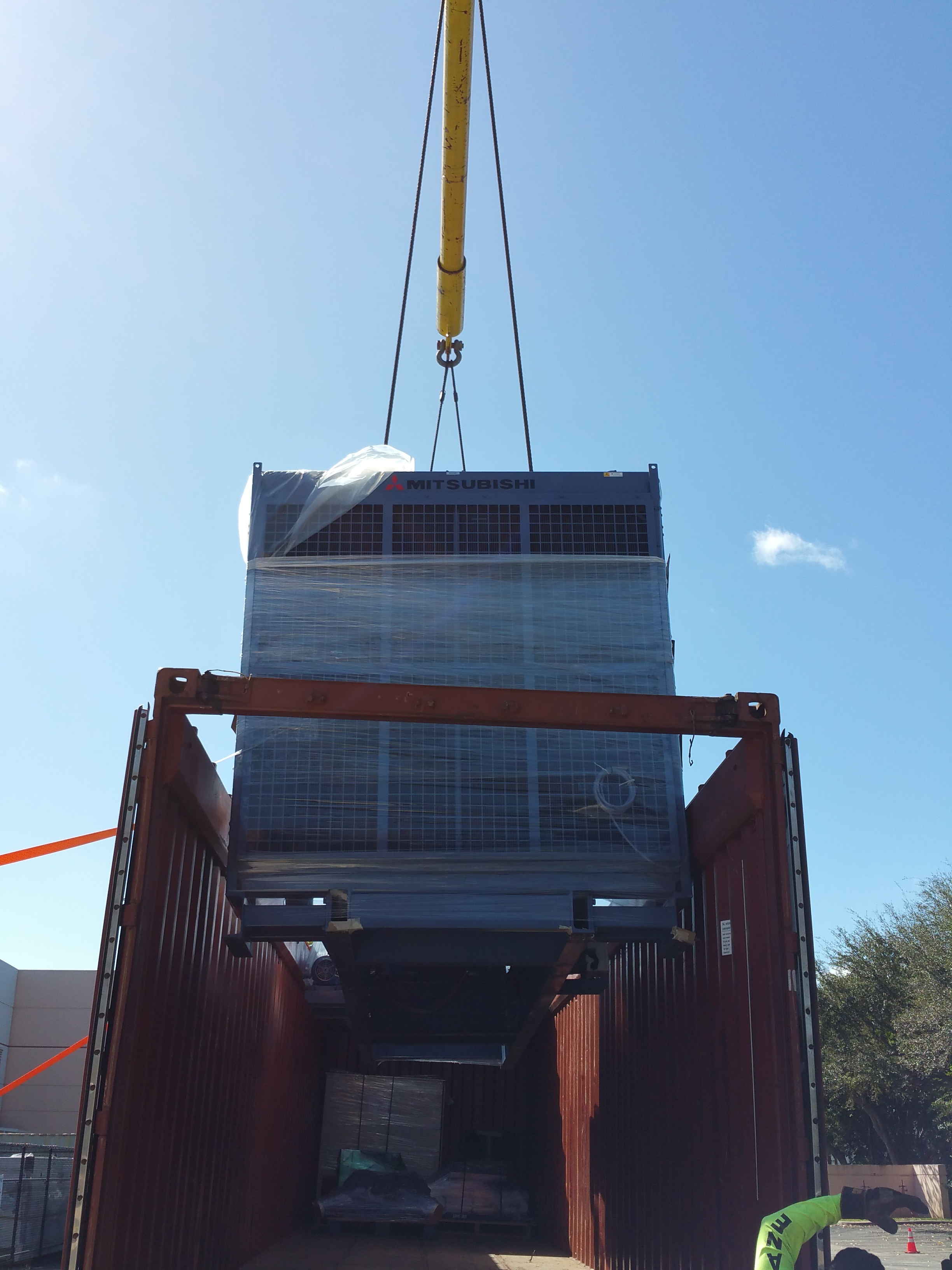 Shipping  Mitsubishi Generator