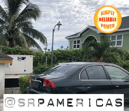 FG Wilson Generators for residential use in The Bahamas