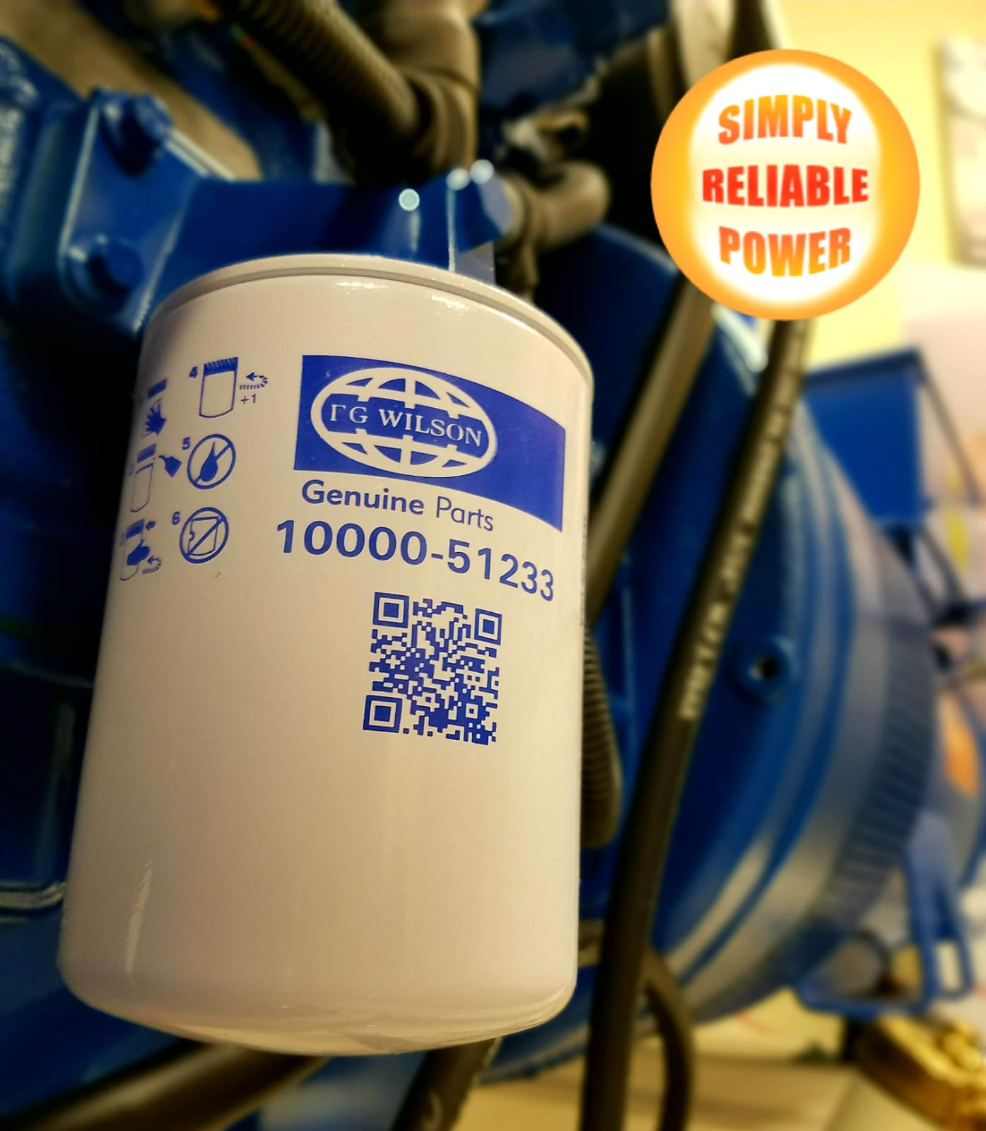 FG Wilson generators Filters (Genuine Parts) available for The Bahamas