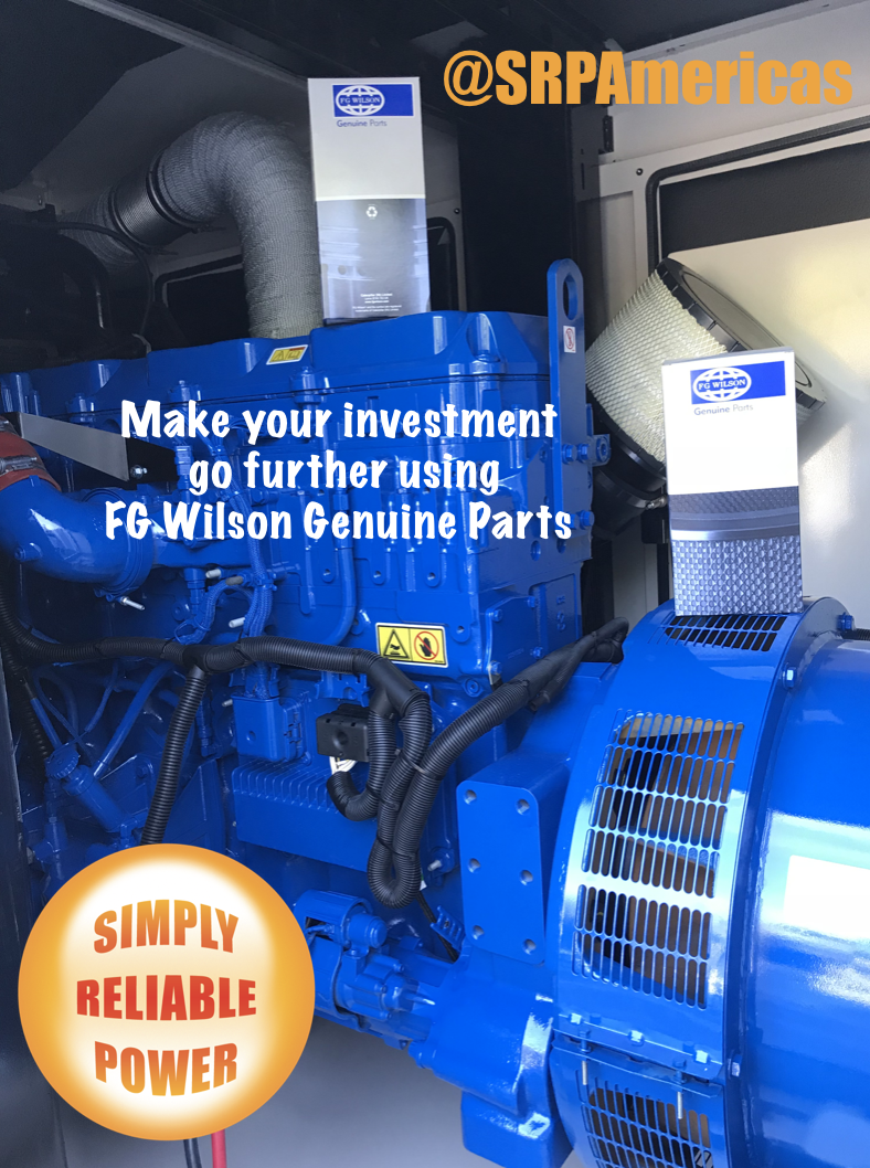 Keep your FG Wilson Generator 100% original with Genuine Part from Simply Reliable Power