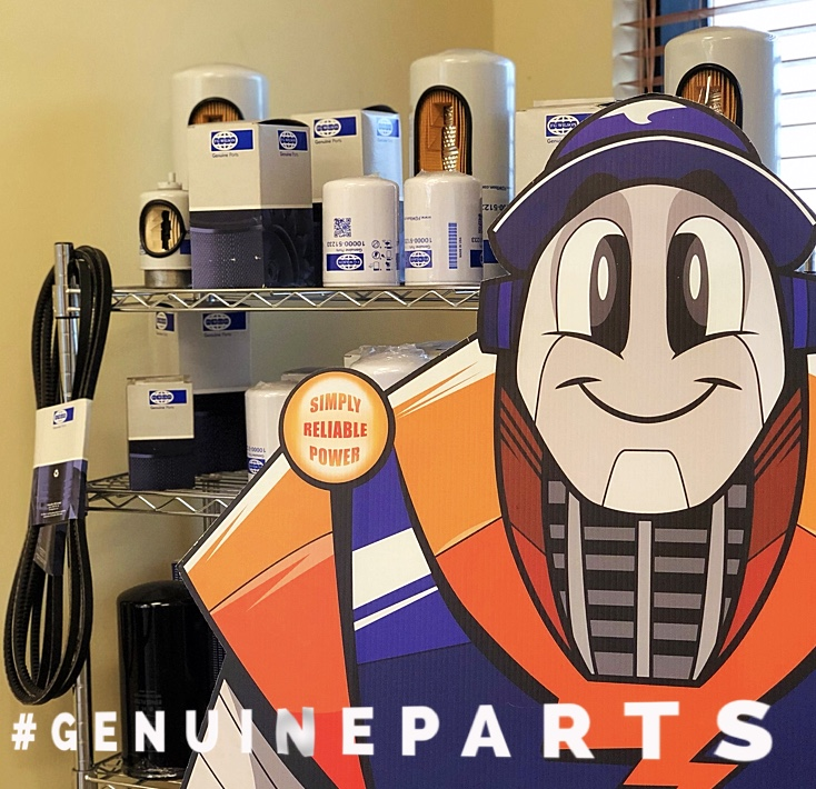 Our team will help you find the right genuine part for your generator in The Bahamas