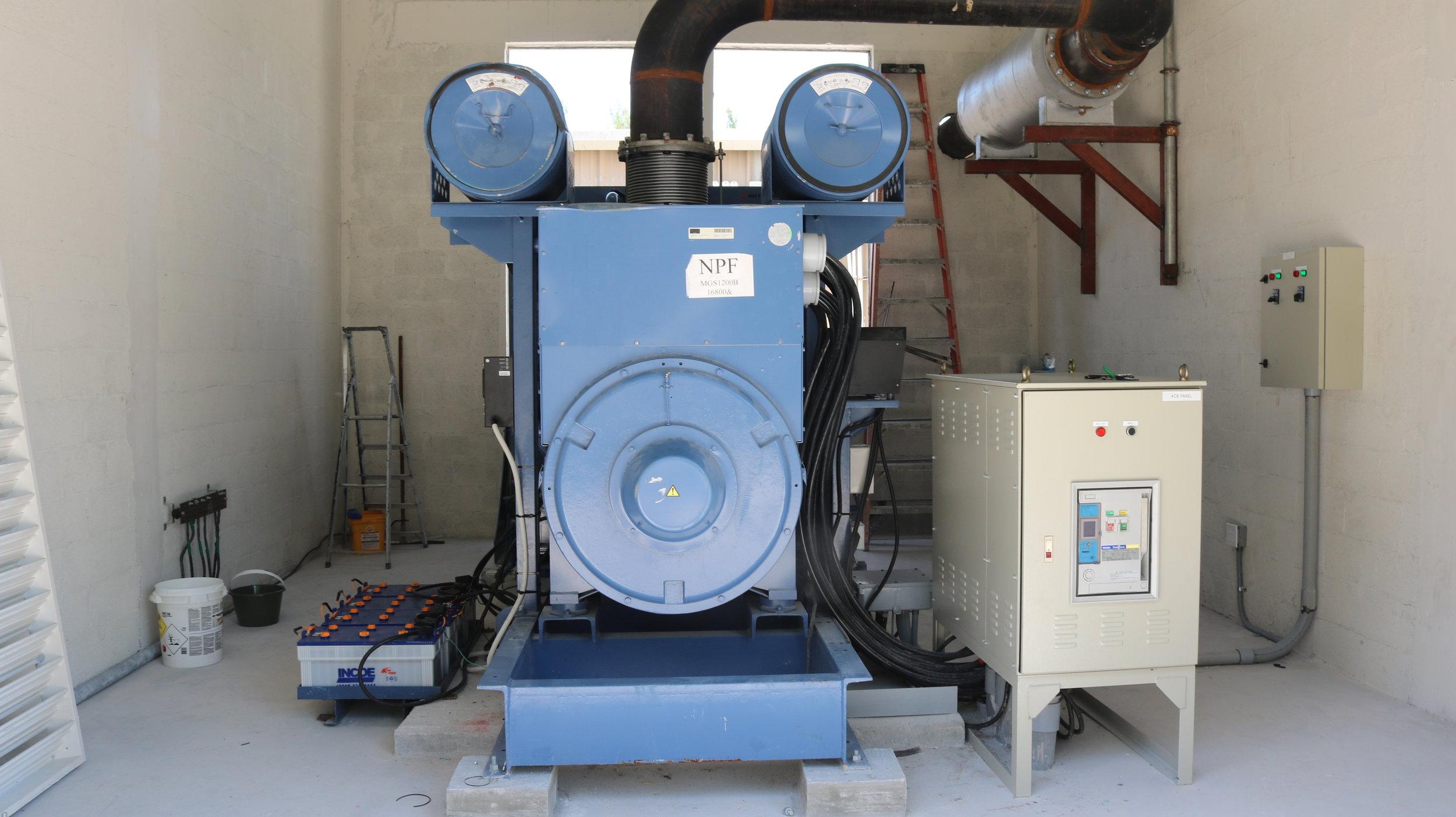 Mitsubishi Diesel Generators in The Bahamas