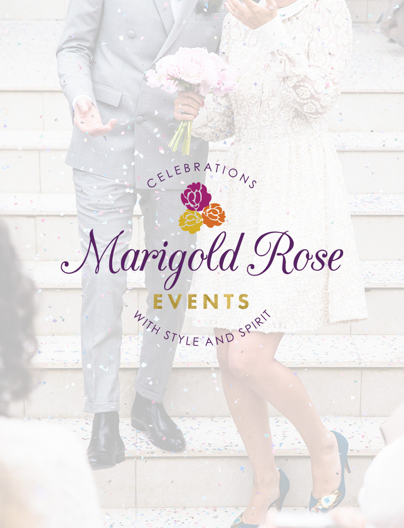 Marigold Rose Events Brand | Web