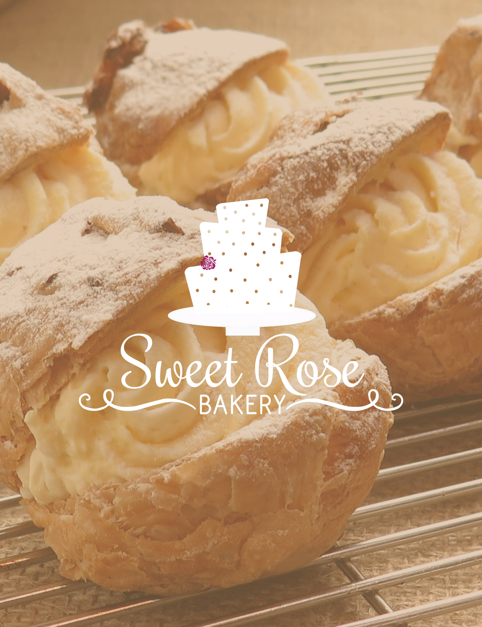 Sweet Rose Bakery Brand | Print