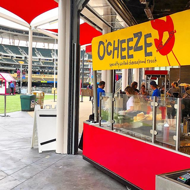 Going to the @twins game for the @redsox series?! Well we are hearing serving up some of the favorites for the #gate34experience. Serving along side 6 of our good friends from @kegandcasemn #meltswellwithothers #gotwins #baseball
