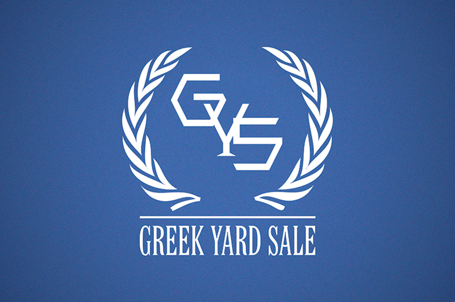 Greek Yard Sale