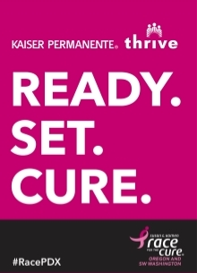 Race for the Cure - Start banner