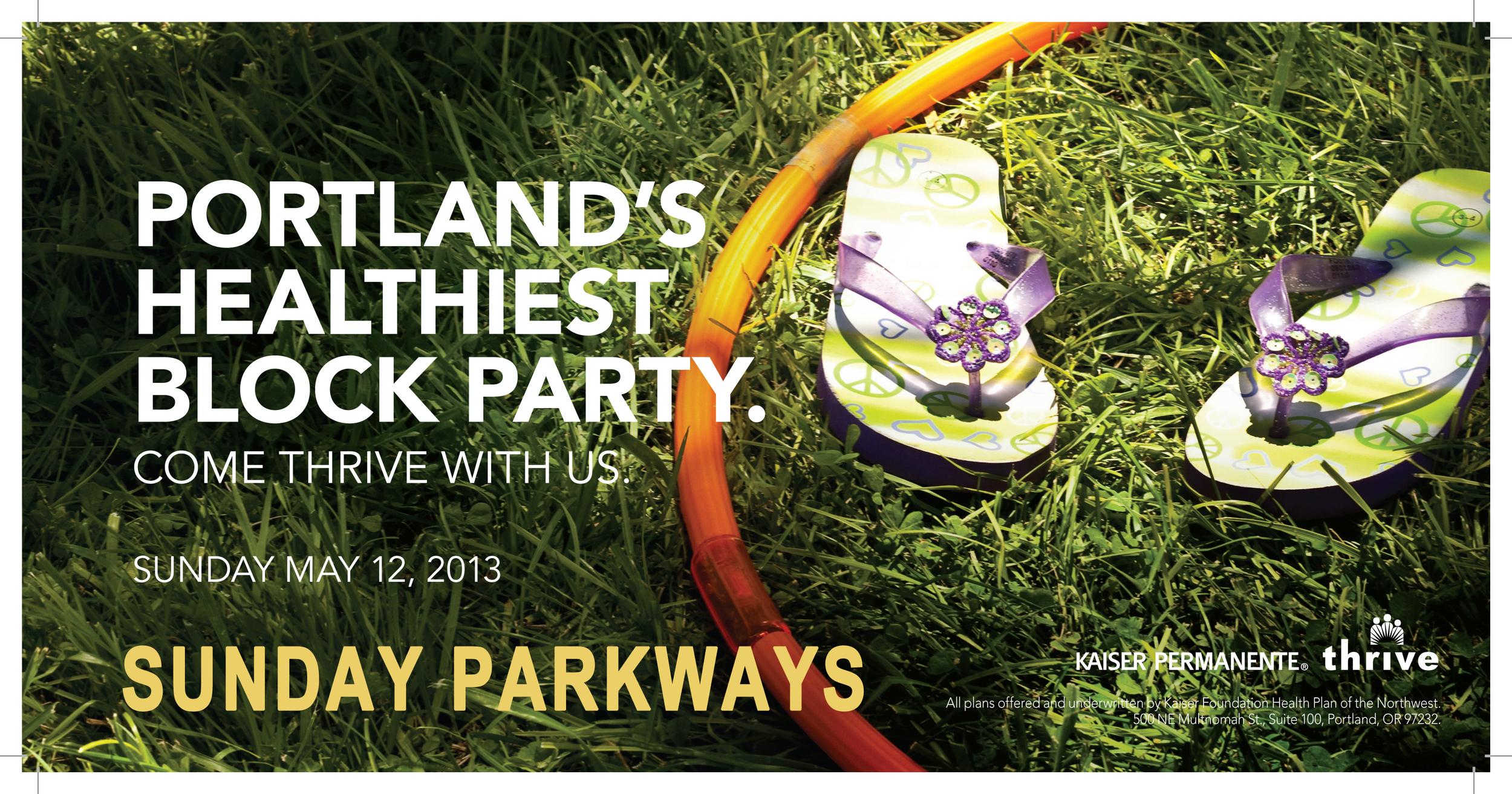 Sunday parkways Portland, OR