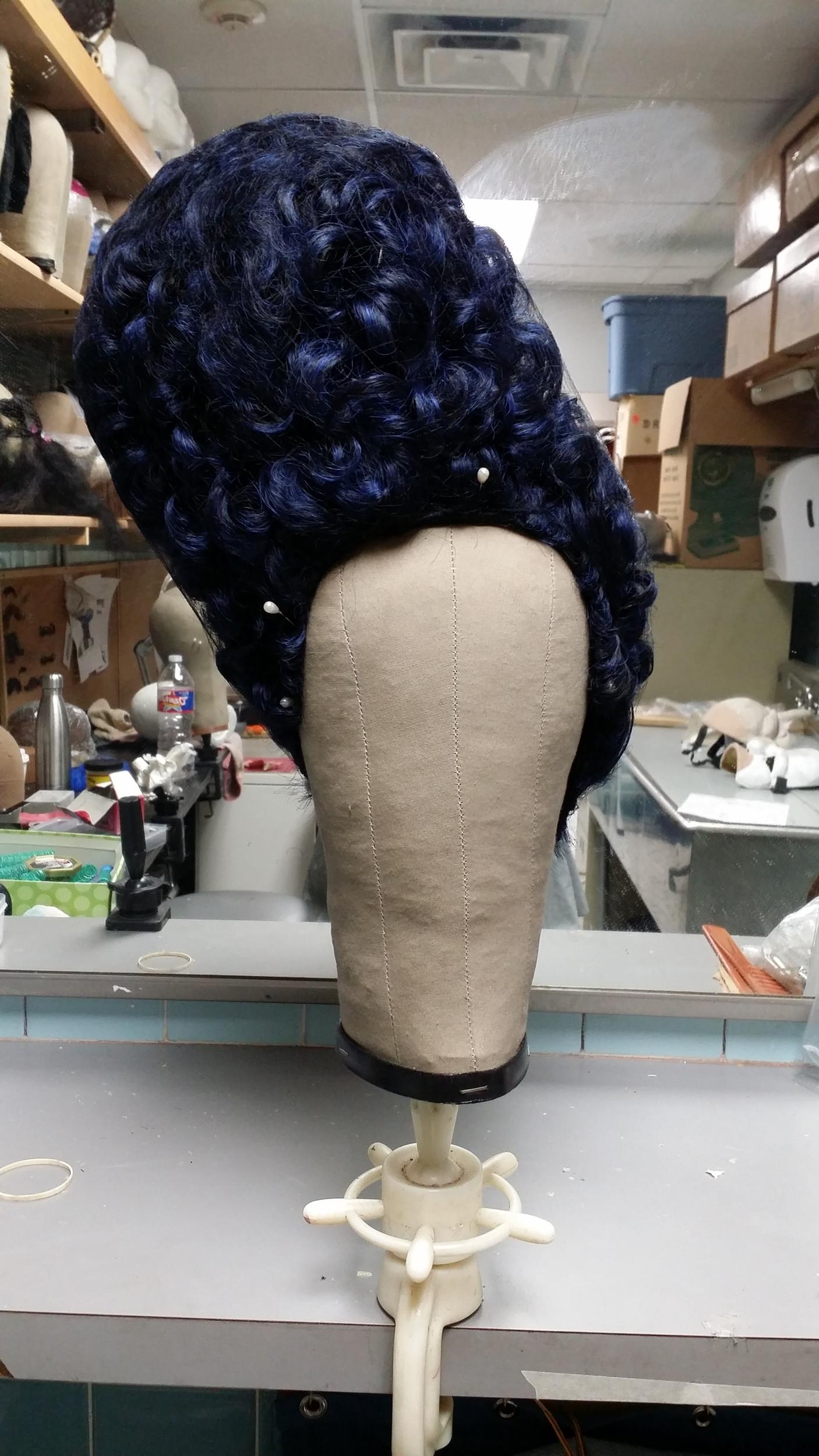 Post-apocalyptic Marge wig