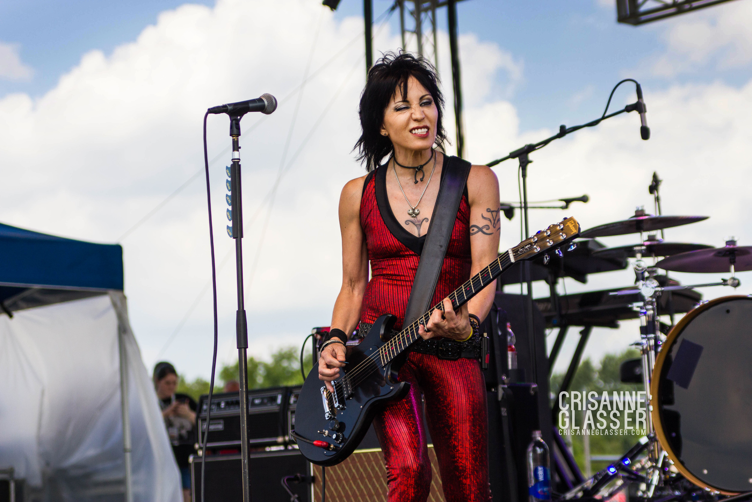 Joan Jett // Joan Jett & the Blackhearts // © CRISANNE GLASSER 2014