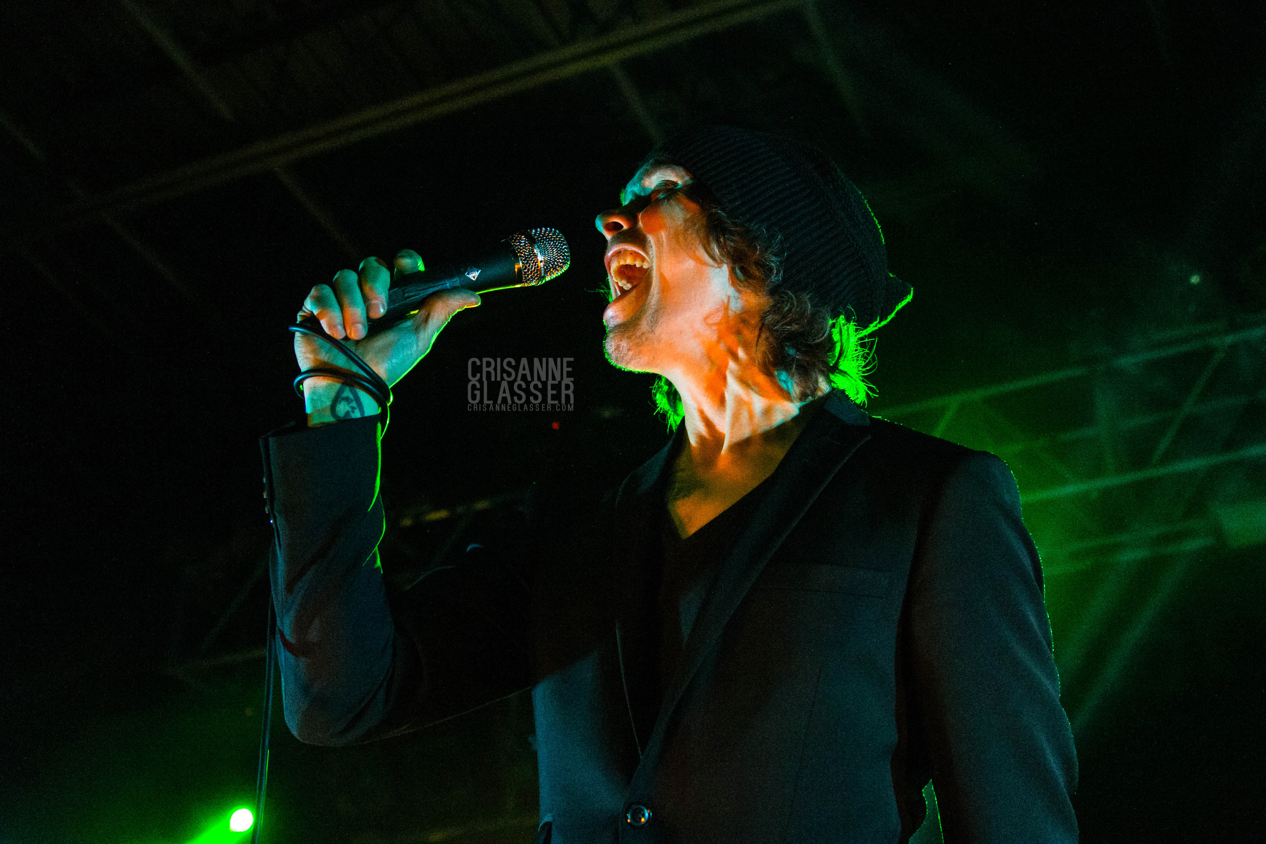 Ville Valo // H.I.M. (His Infernal Majesty) // © CRISANNE GLASSER 2014