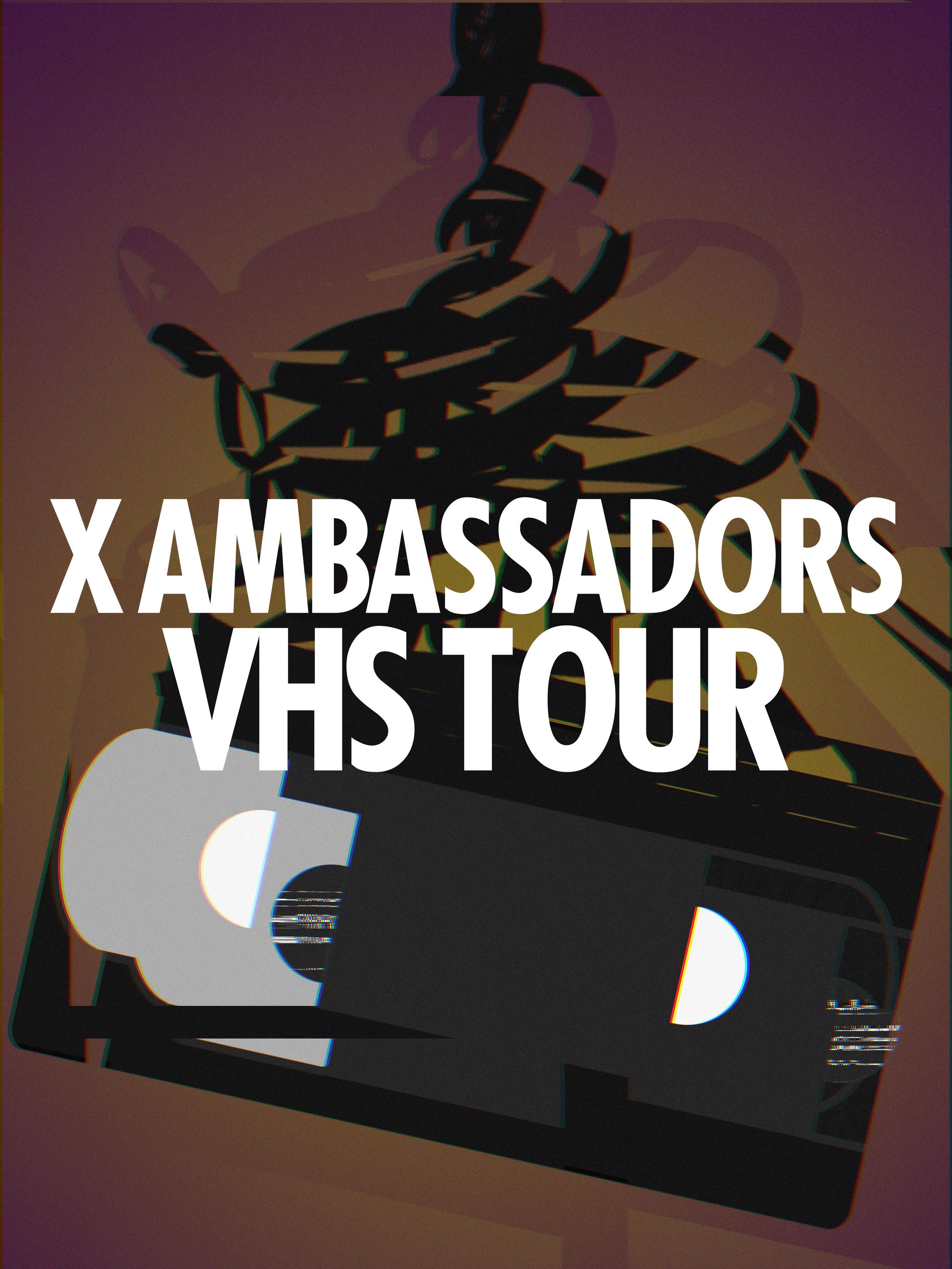TOUR ADMAT // X AMBASSADORS // © CRISANNE GLASSER 2015