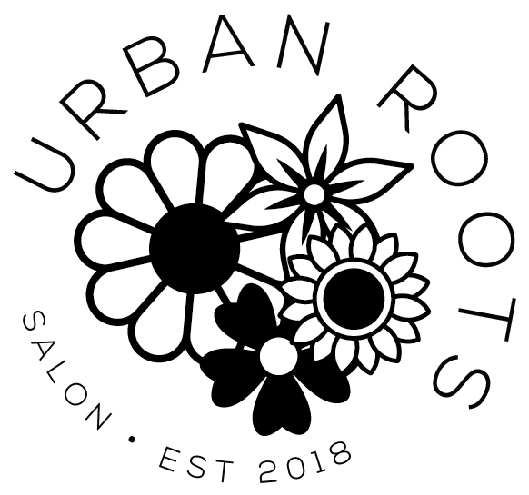 LOGO // URBAN ROOTS SALON // © CRISANNE GLASSER 2018