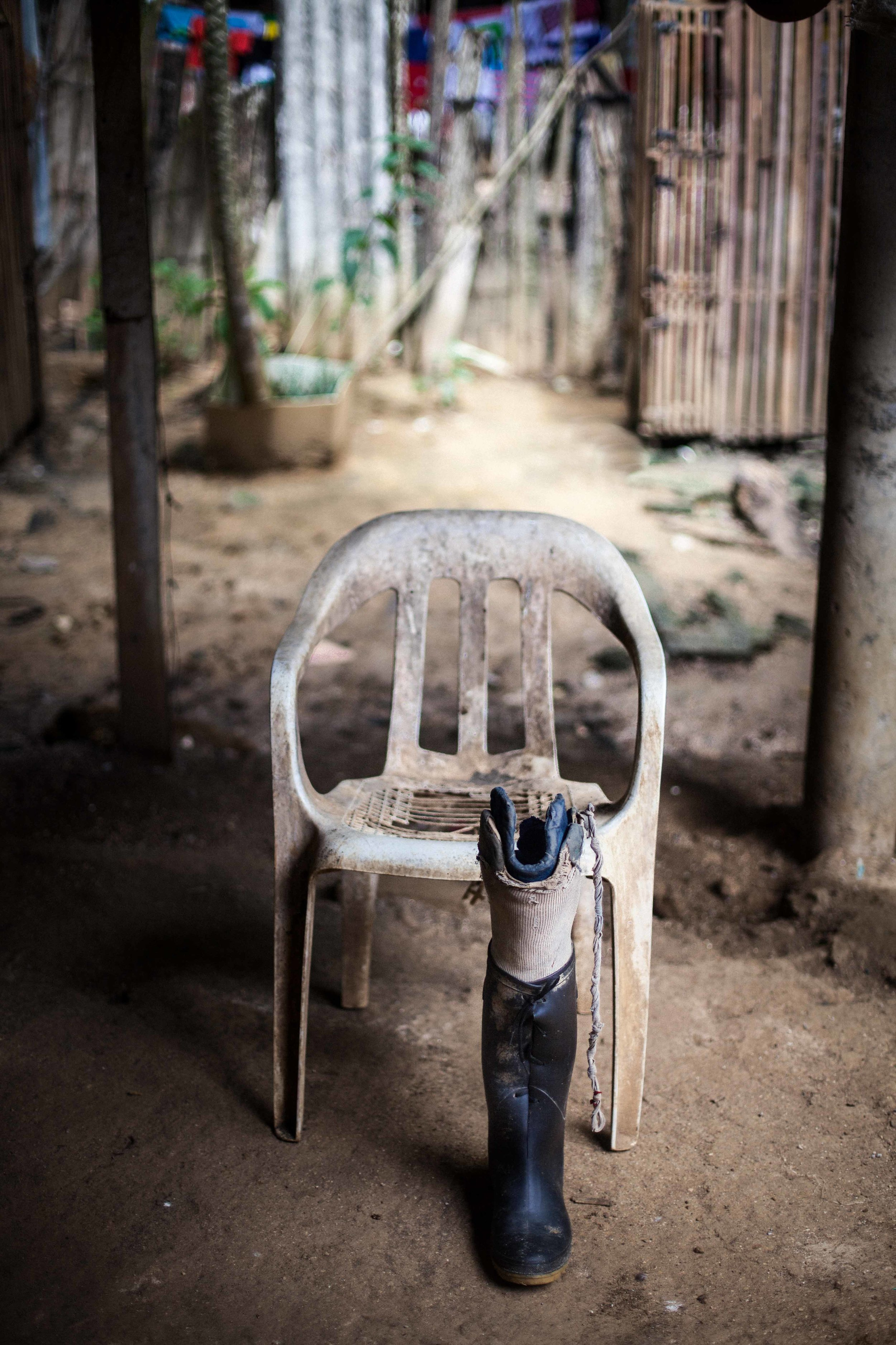Since 1990, over 7,000 Military Forces soldiers have been killed or wounded by landmines suffering mutilation.