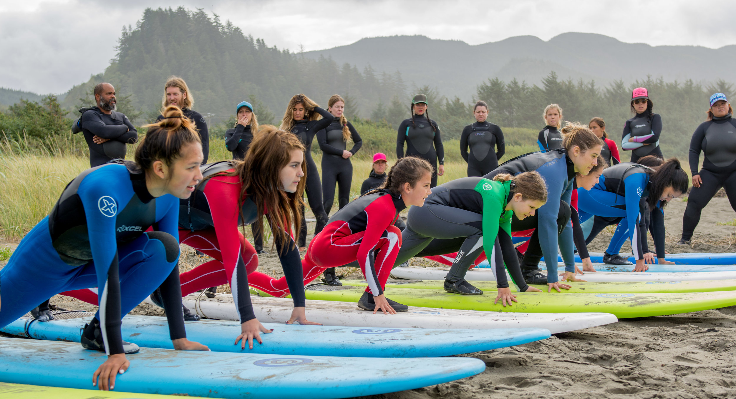 Makah Surf Technique Practice