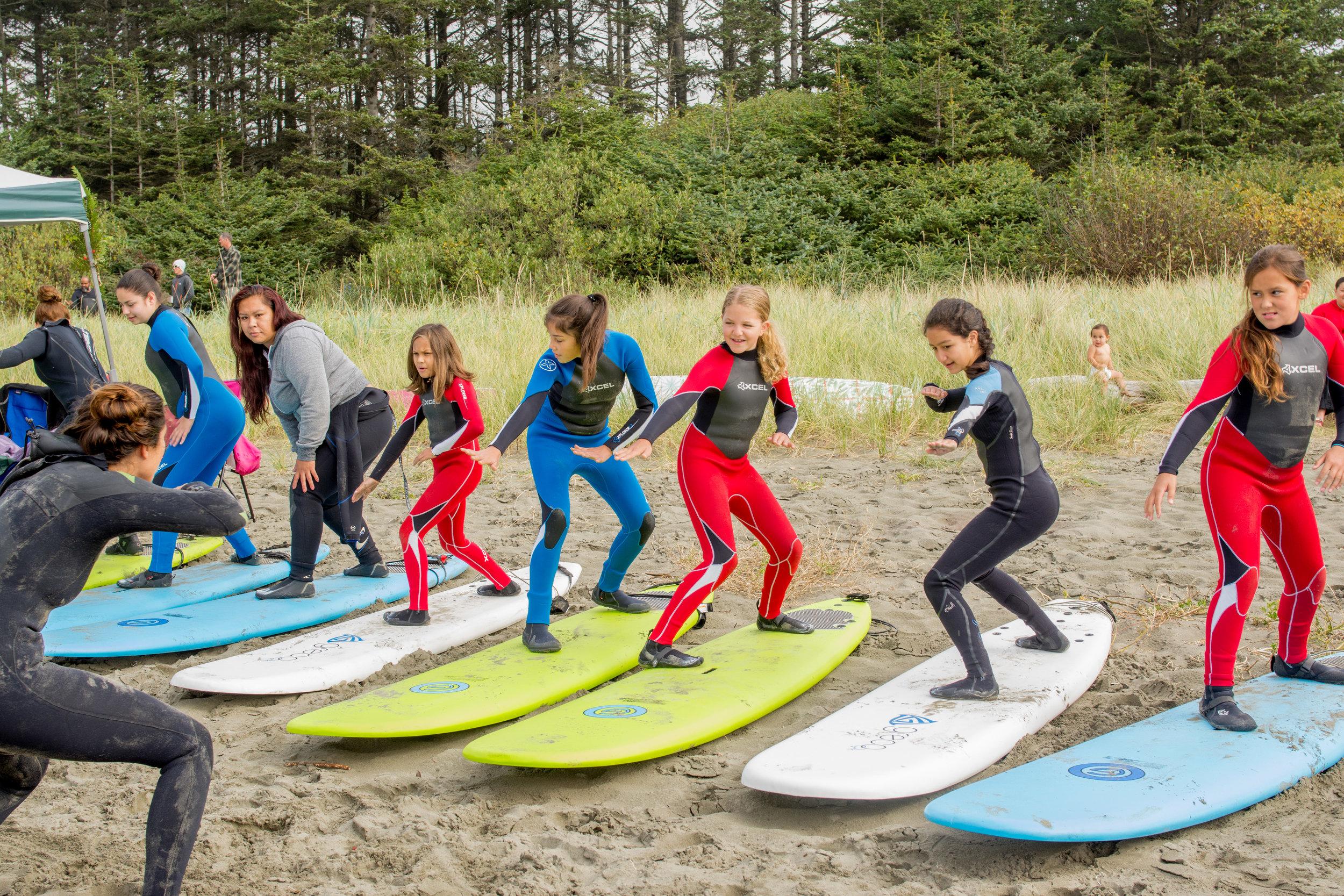 Makah Surf Stance