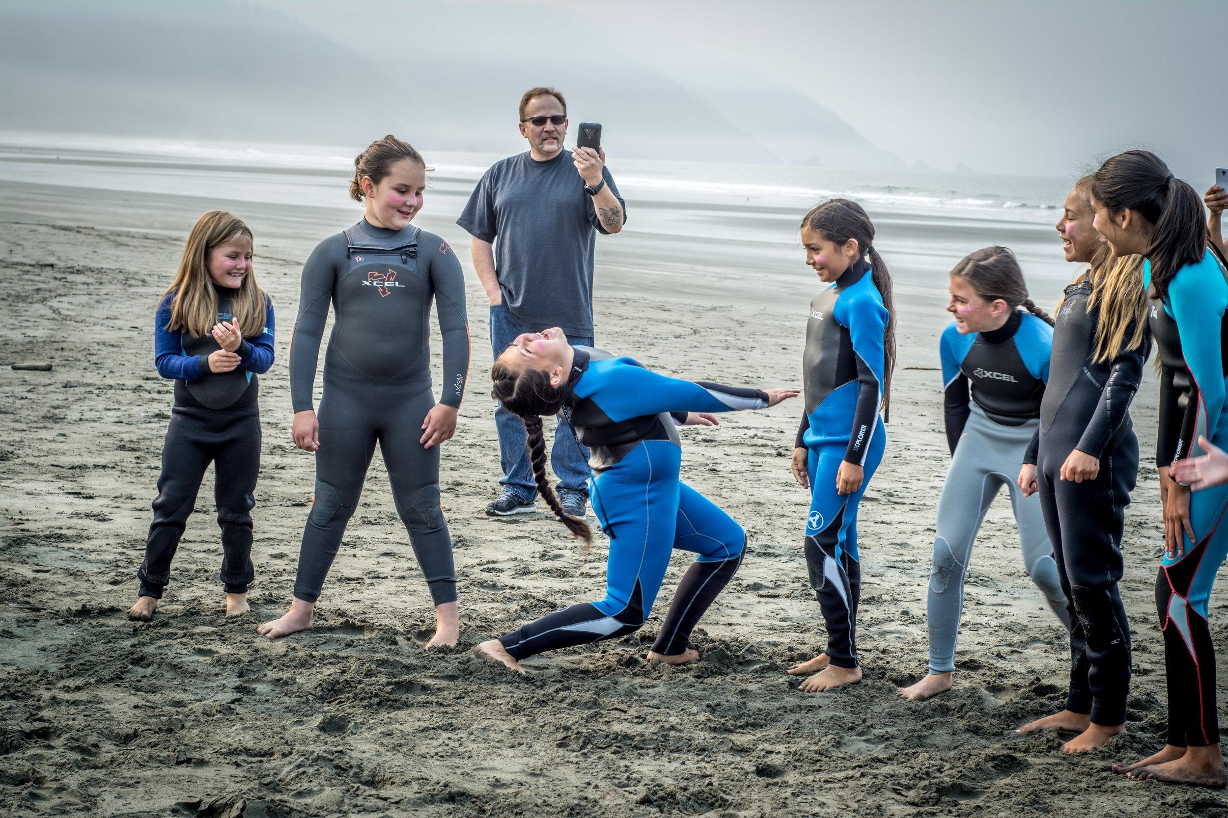 Surfer Girl Moves