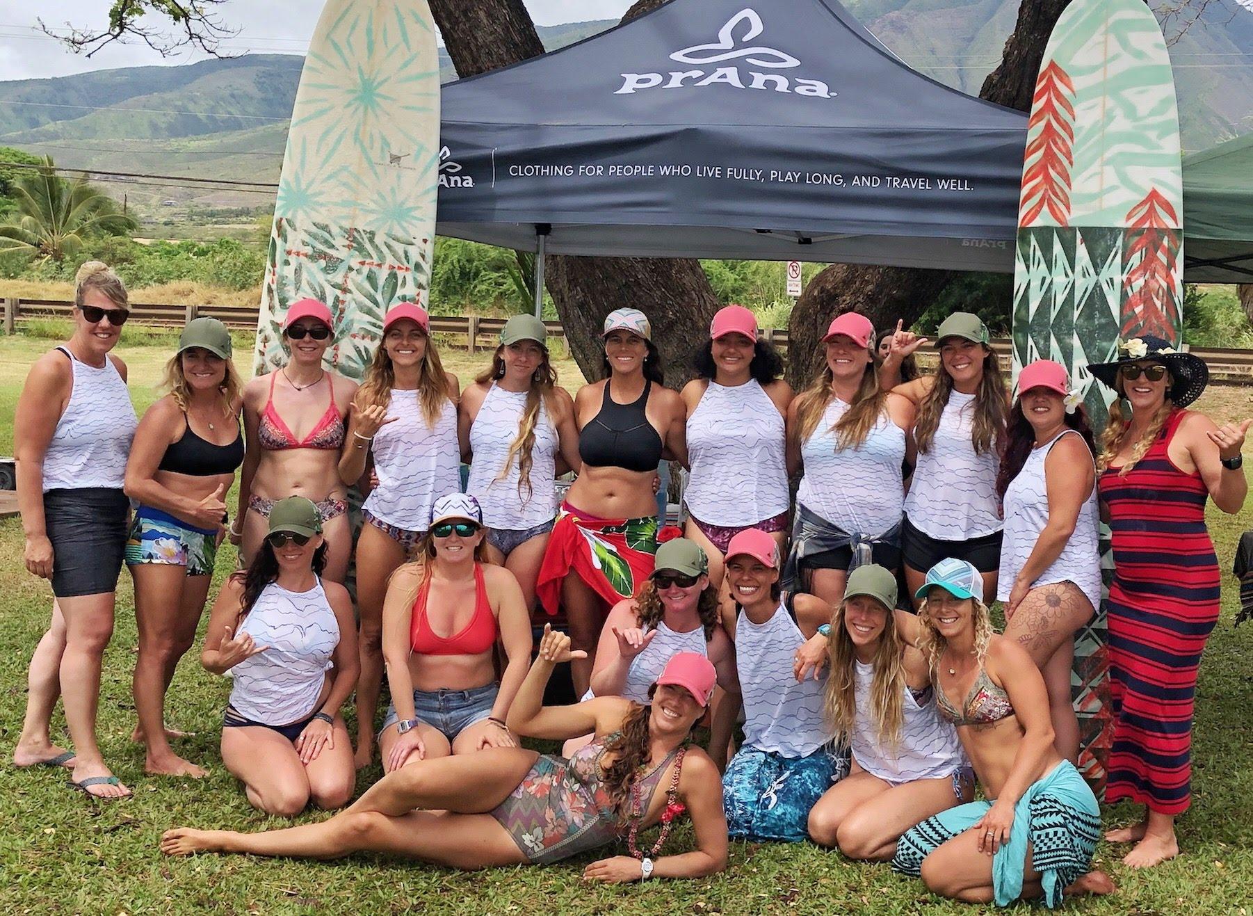 Maui Women's Surfing Retreat