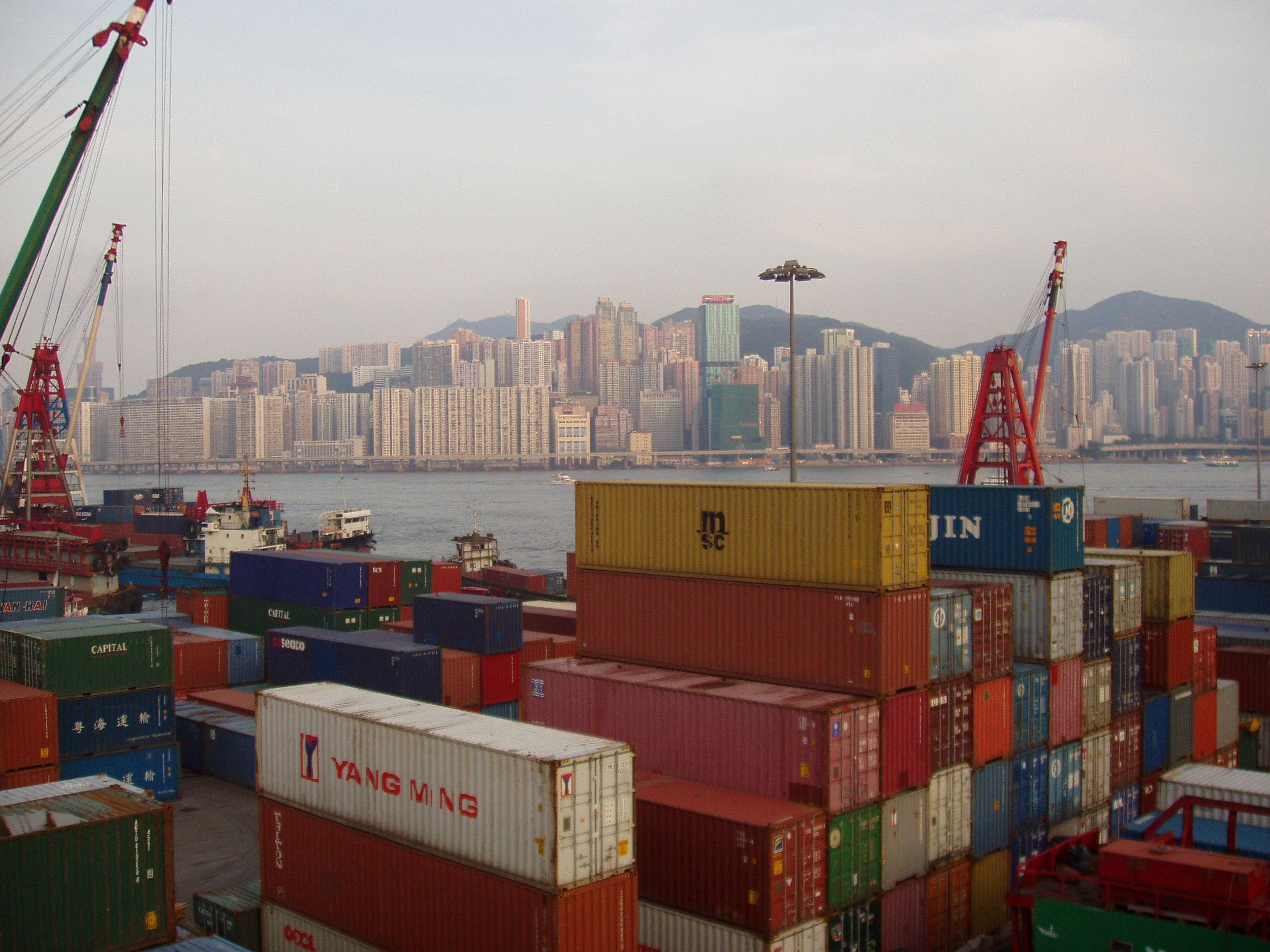 HONG KONG CONTAINER TERMINAL, HONG KONG