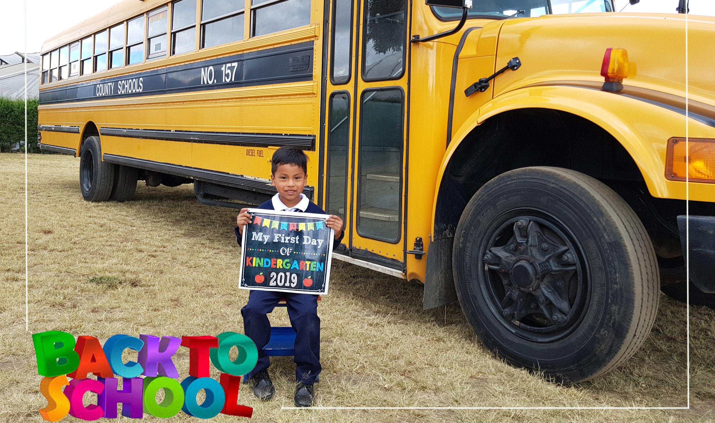 Jorge is in kindergarten
