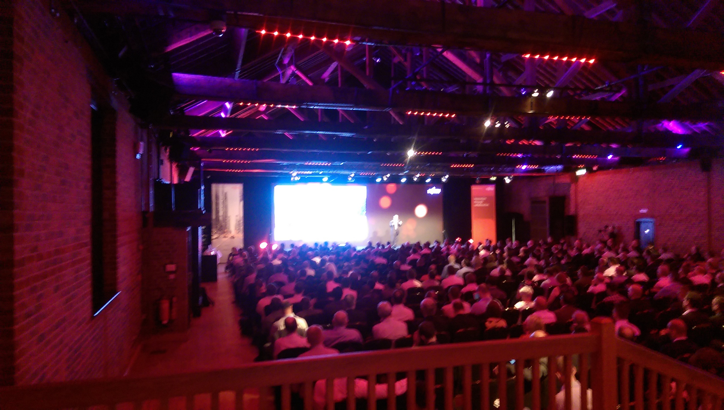 The keynote address from Fujitsu's Dr Joseph Reger was standing room only.