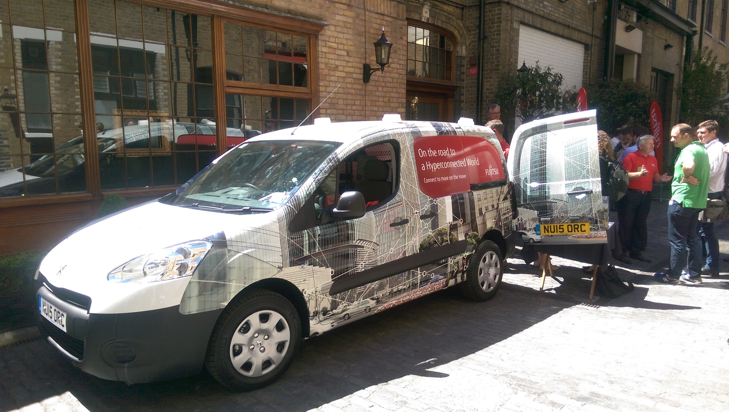 Fujitsu rolled into London for one of the first events of their 2015 World Tour. Hyperconnectivity and both its impact and potential were key themes.