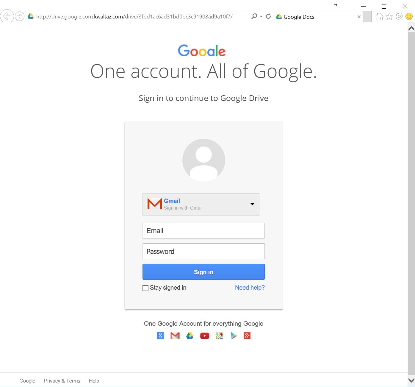 fake-login-page-screenshot