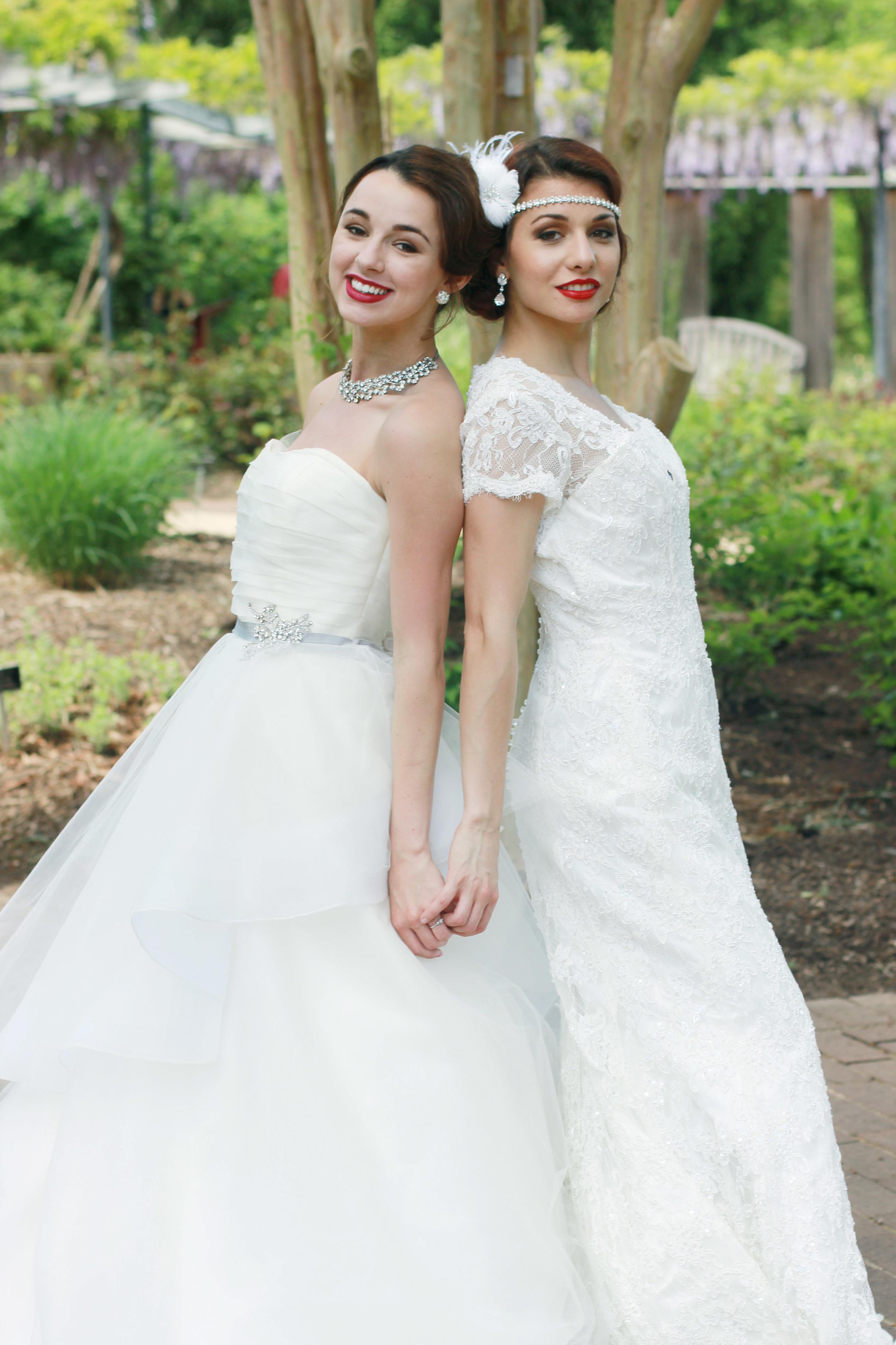 Vintage Glamour Wedding | Same Sex Couple - Jess Rudolph Photography