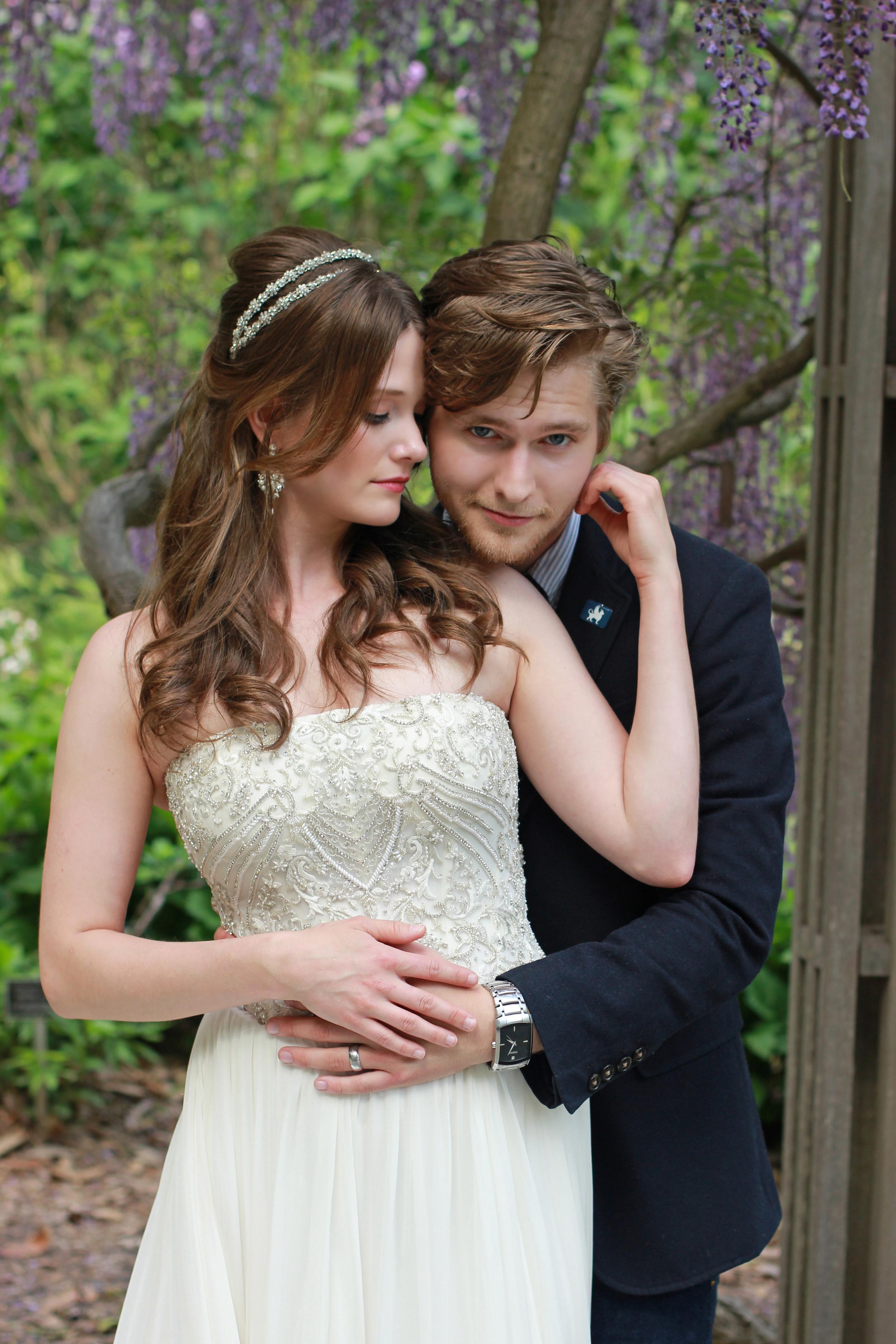 Bohemian Wedding | Bride & Groom | Brookside Gardens - Jess Rudolph Photography