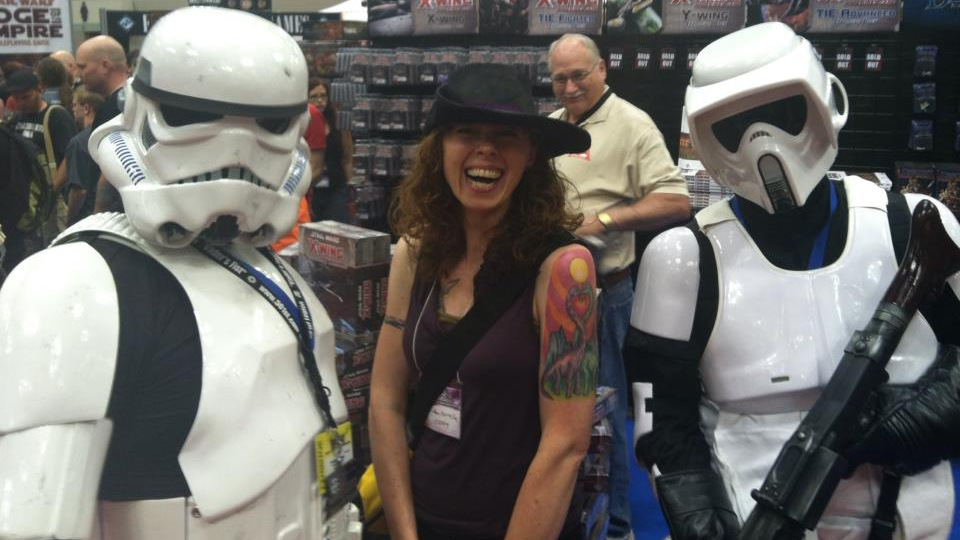 Me with some of the 501st at GenCon, 2012