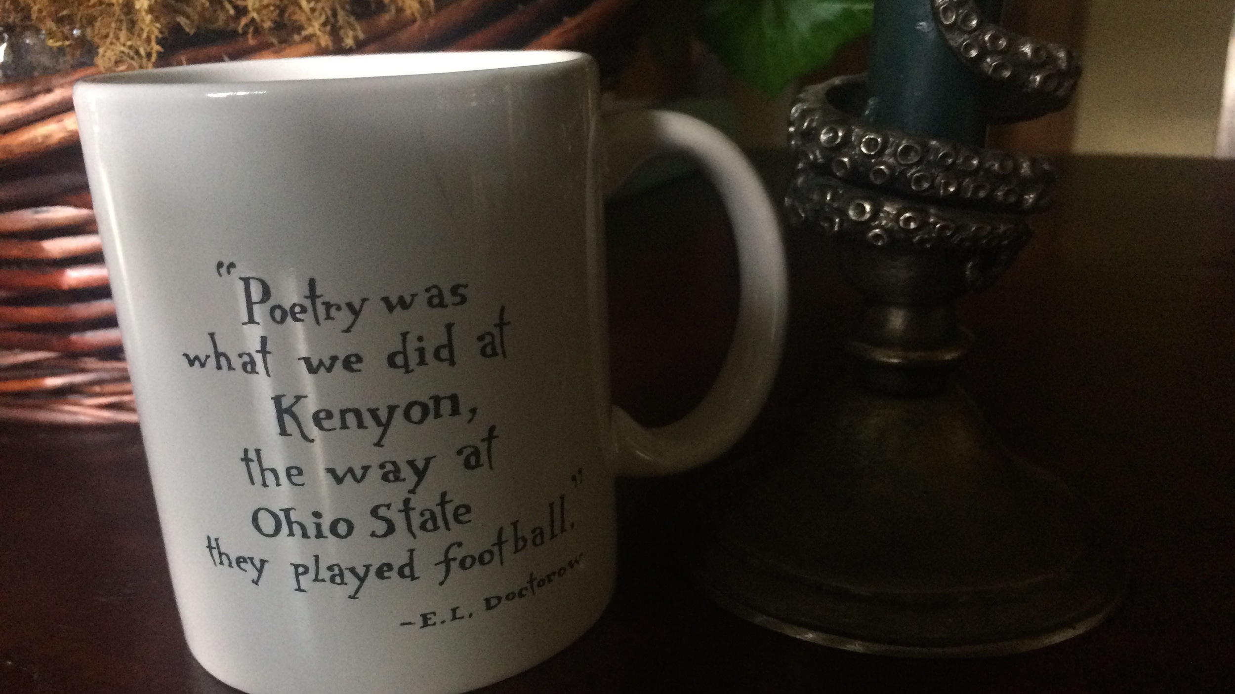 Writing at Kenyon Coffee Mug