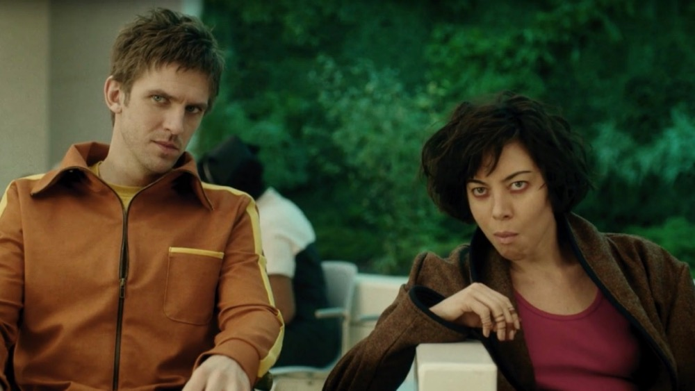 Dan Stevens as David Haller and Aubrey Plaza as Lenny. Still from LEGION on FX.