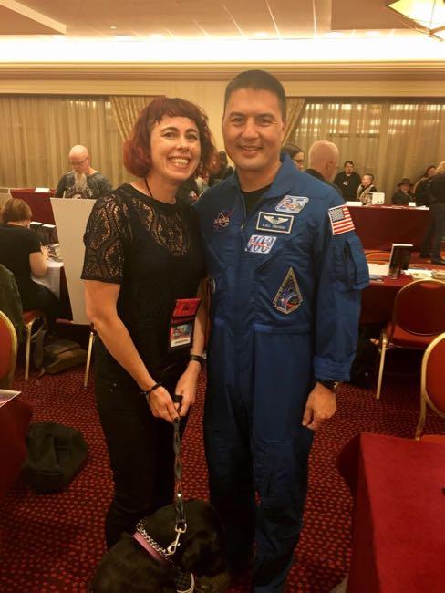 Me and Kjell Lindgren. Nebula Conference, May 2017.