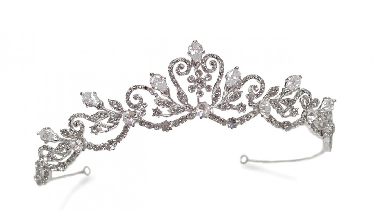 Marilyn Tiara. Plastic stones. Available from Polyvore.com
