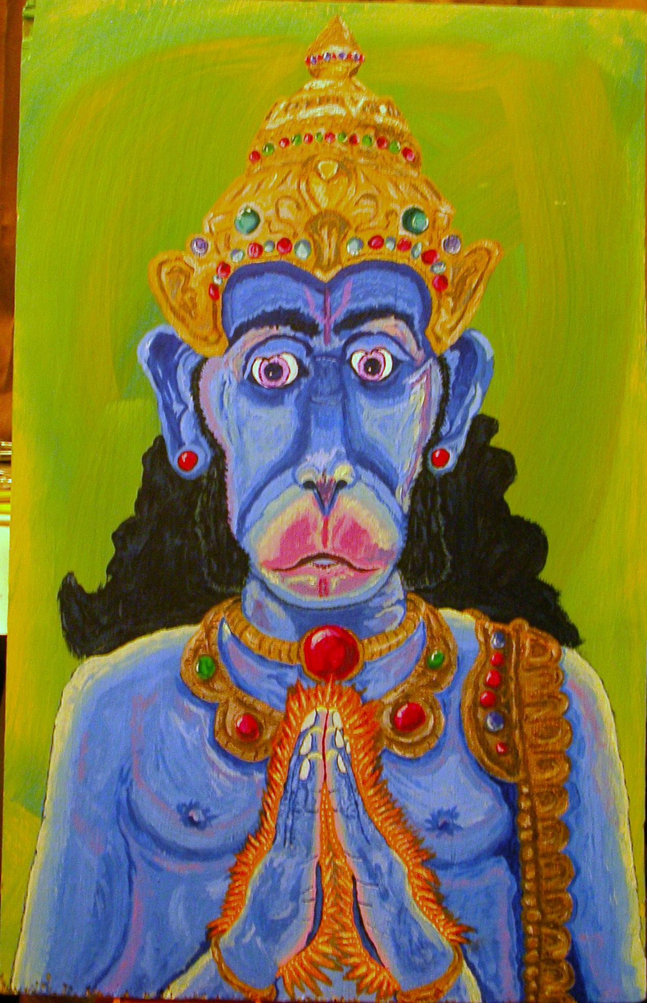 Hanuman Watches Over